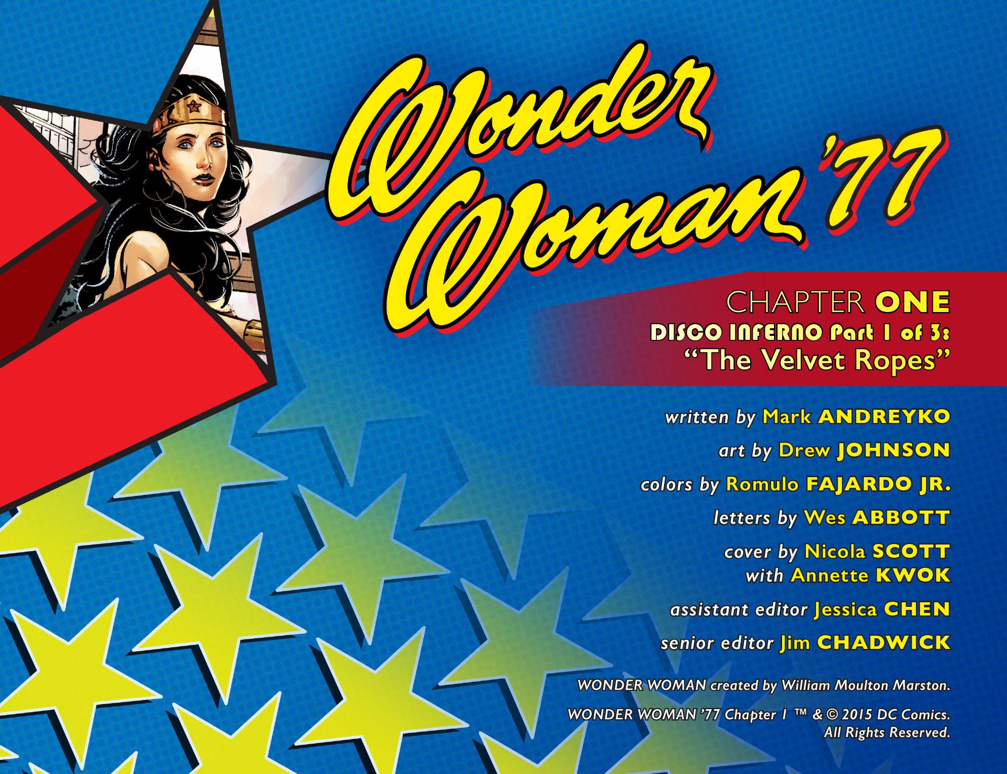 Read online Wonder Woman '77 [I] comic -  Issue #1 - 2