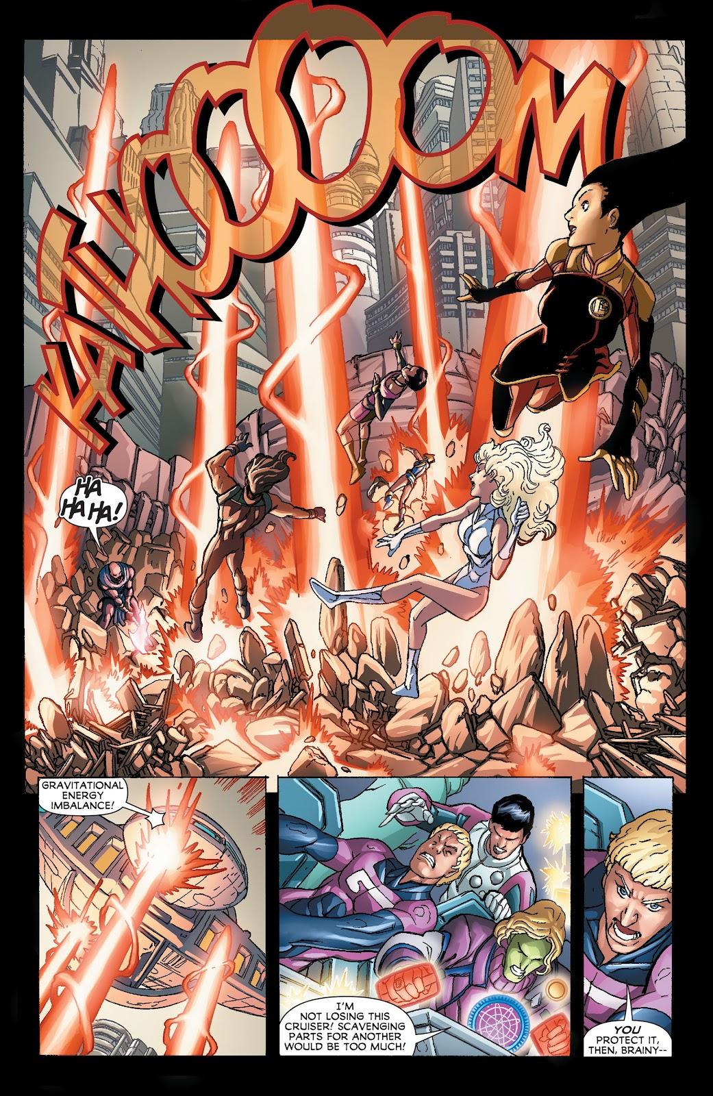 Legion of Super-Heroes (2011) Issue #21 #22 - English 14