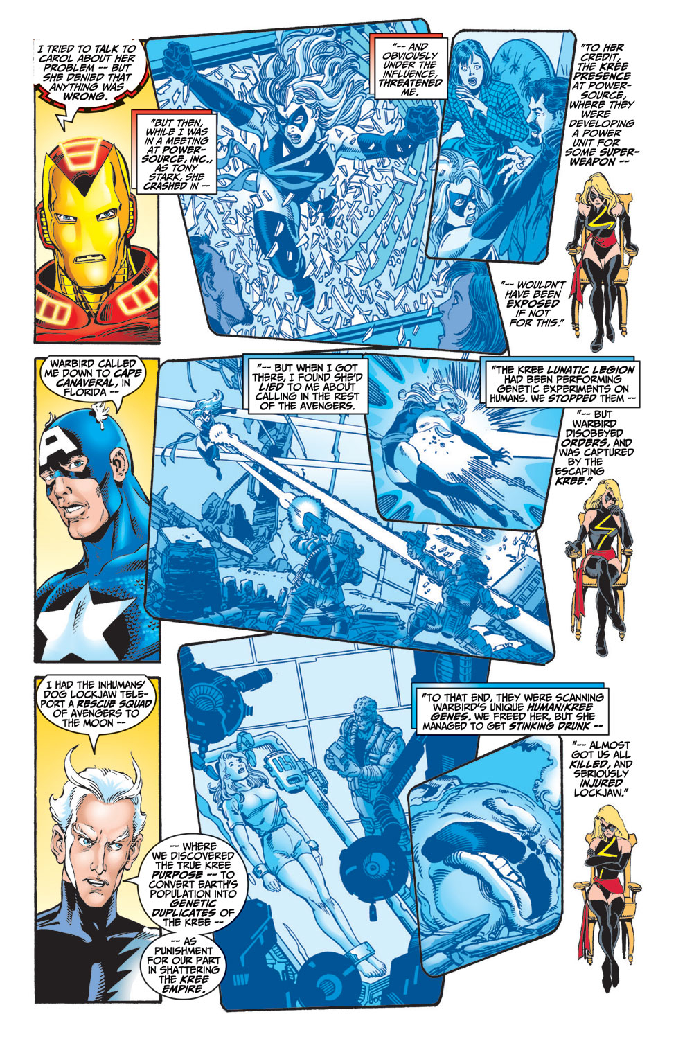 Read online Avengers (1998) comic -  Issue #7 - 5