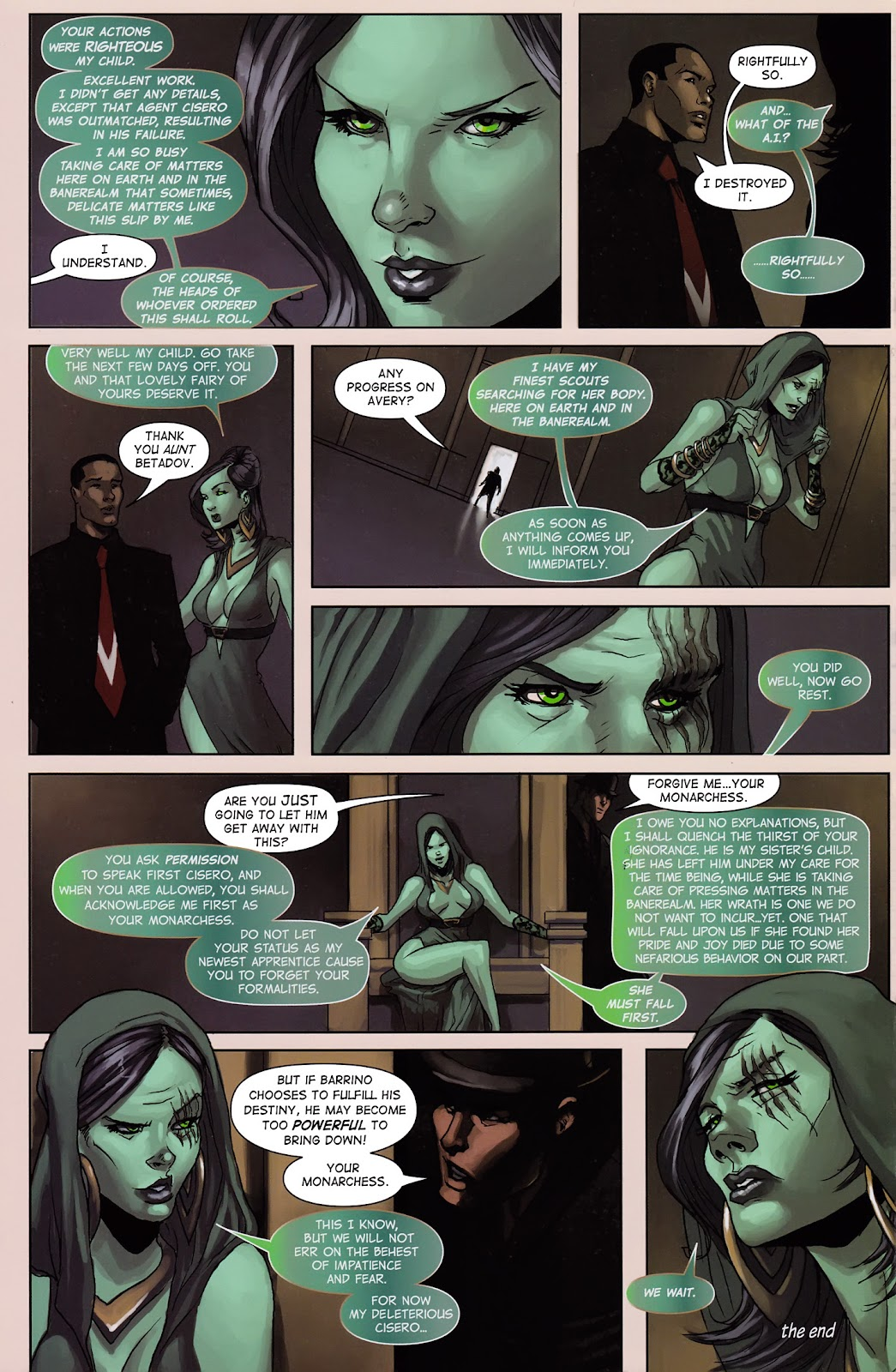 Read online Vescell comic -  Issue #3 - 10