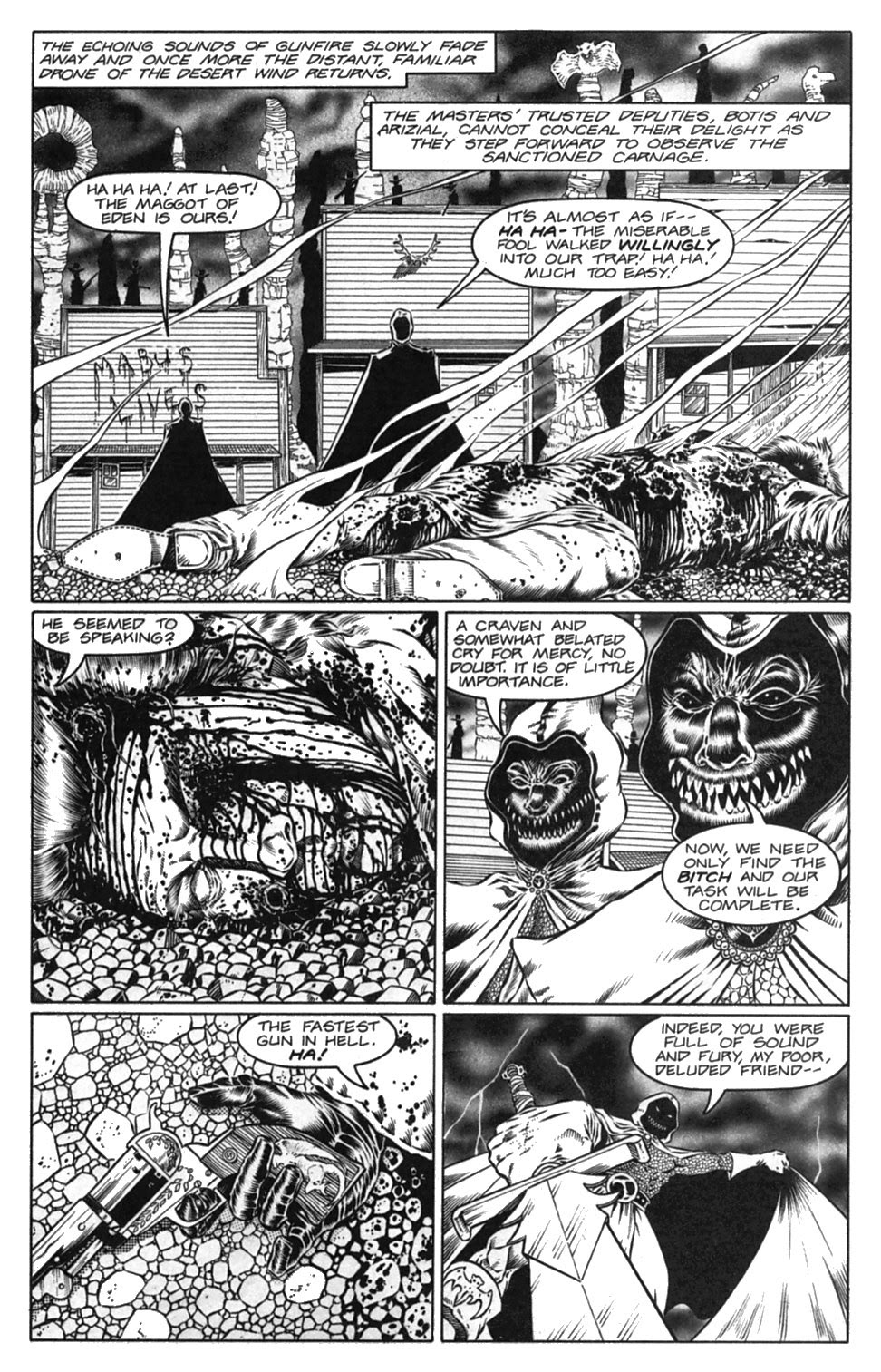 Read online Gunfighters in Hell comic -  Issue #3 - 29