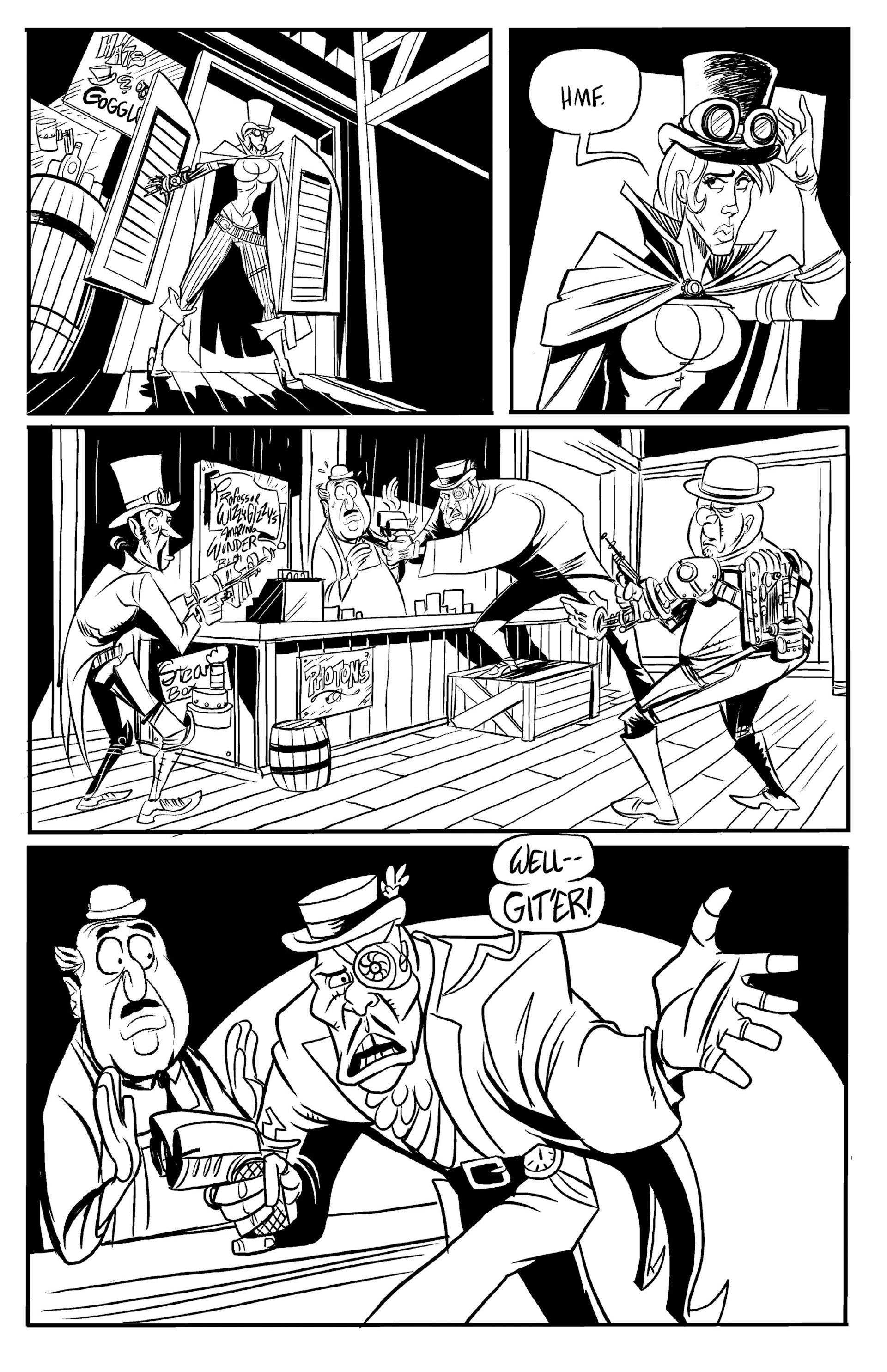 Read online Steampunk Halloween 2012 comic -  Issue # Full - 29