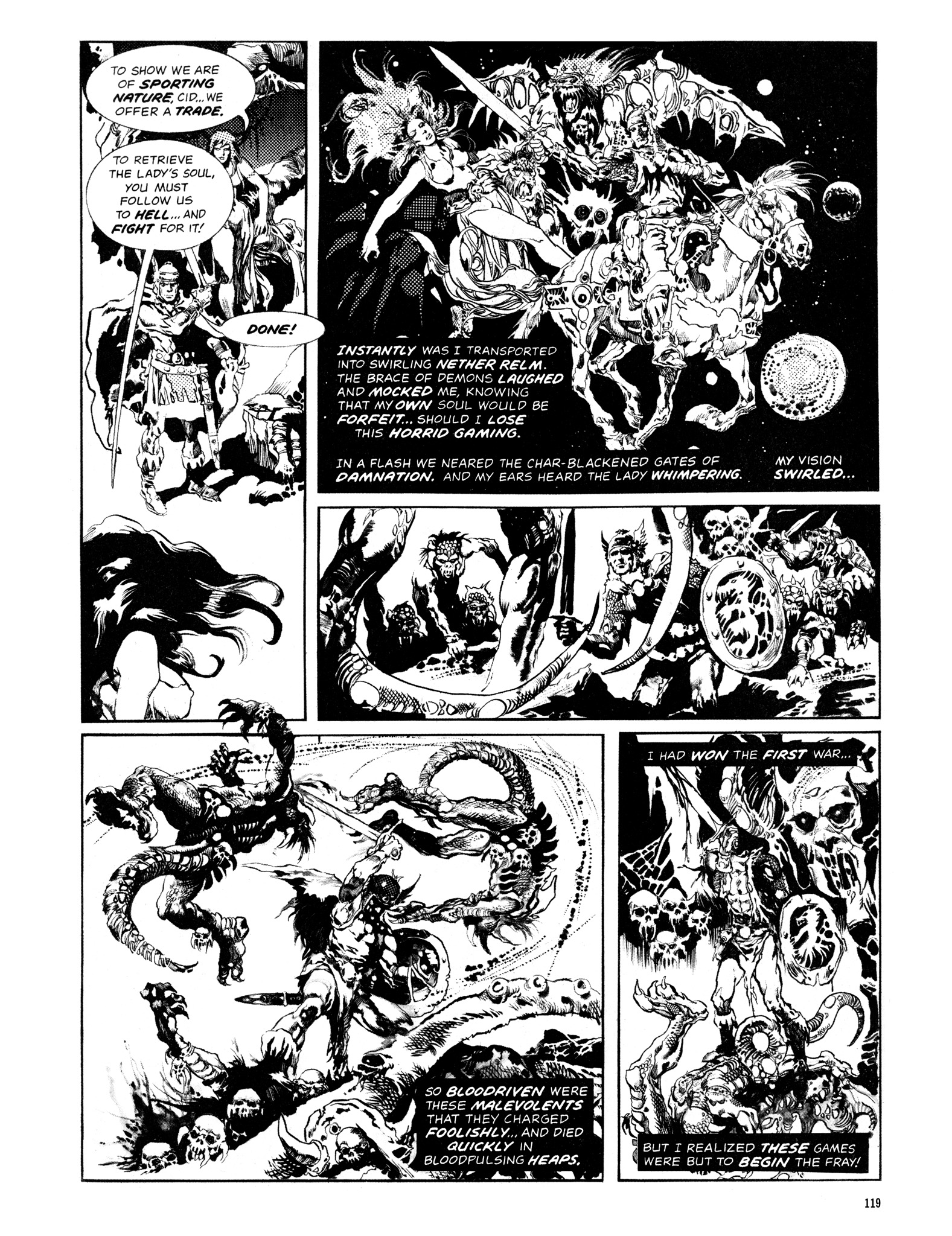 Read online Eerie Archives comic -  Issue # TPB 14 - 120