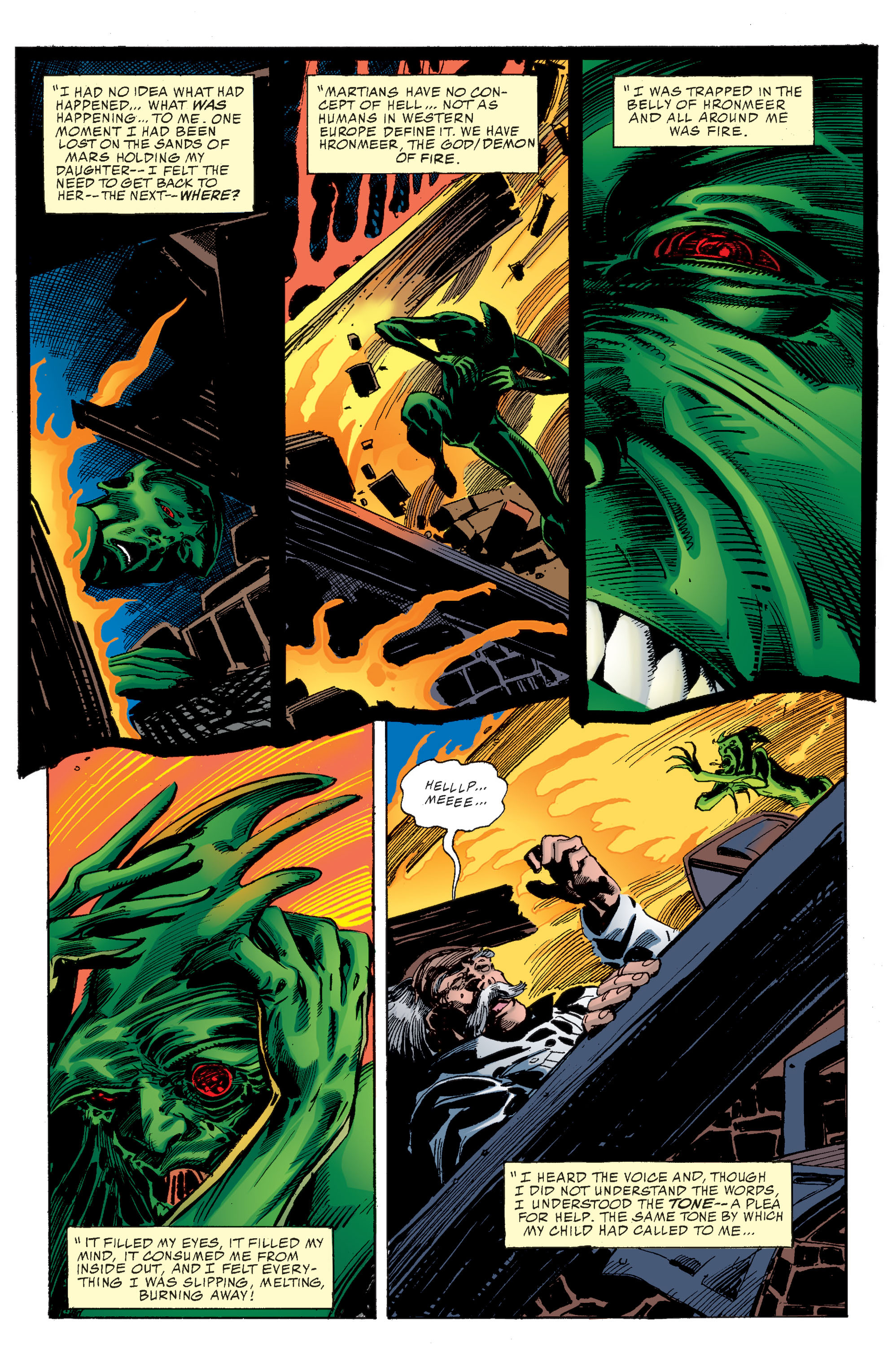 Read online Martian Manhunter: Son of Mars comic -  Issue # TPB - 21