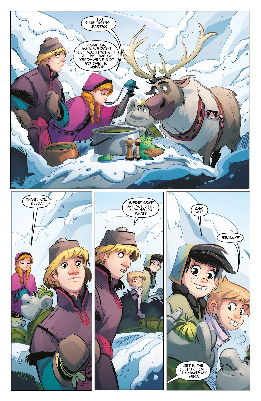 Read online Disney Frozen: The Hero Within comic -  Issue #2 - 19