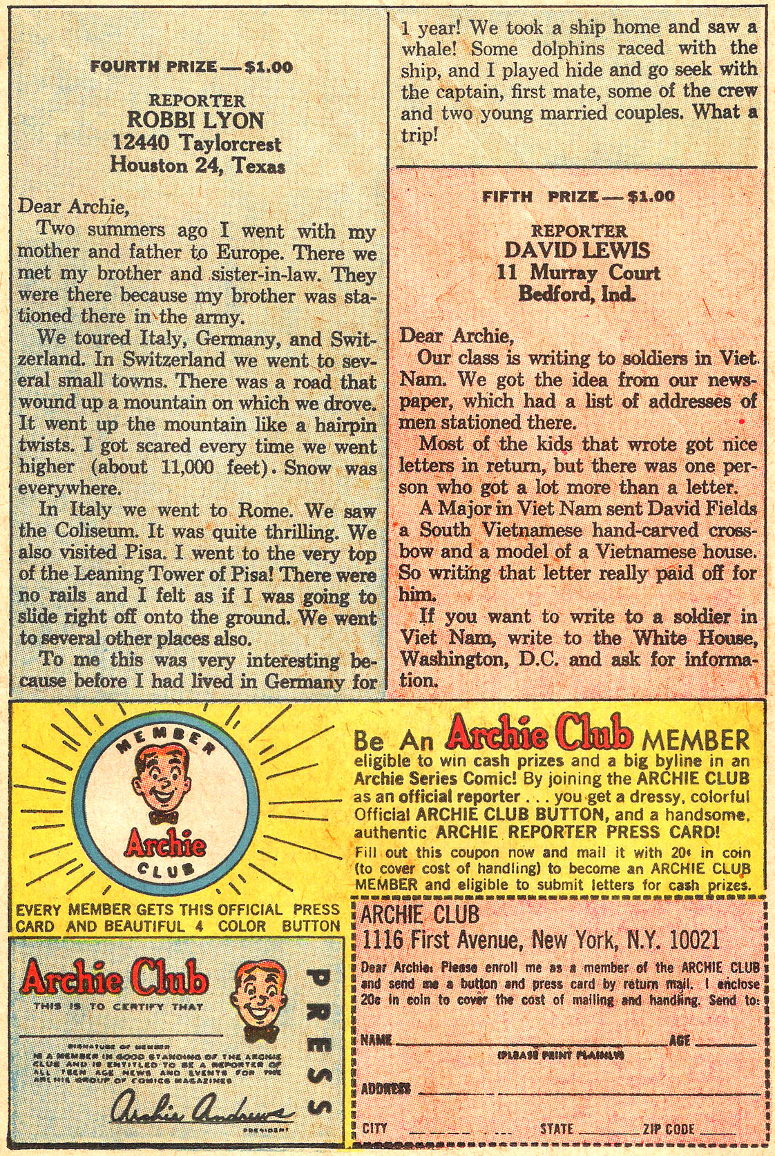 Read online Archie (1960) comic -  Issue #176 - 11