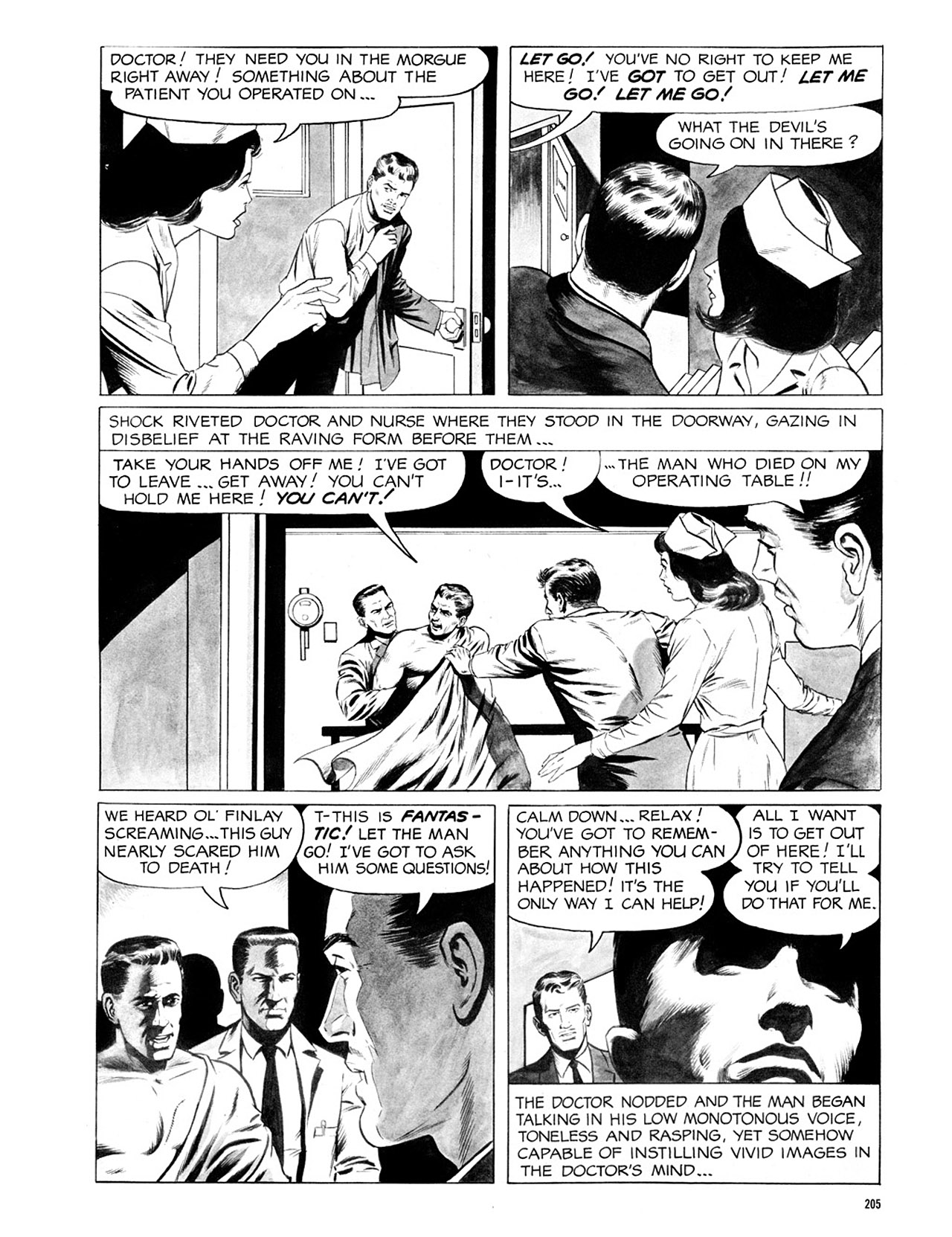 Read online Eerie Archives comic -  Issue # TPB 2 - 206
