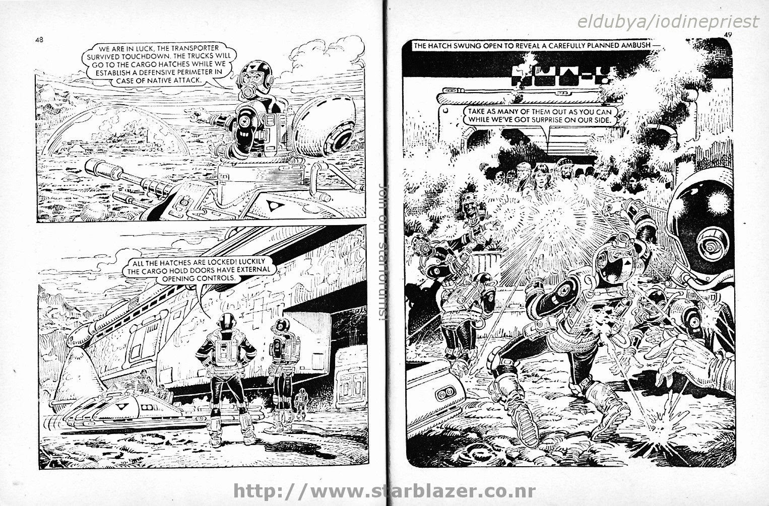 Starblazer issue 118 - Page 26