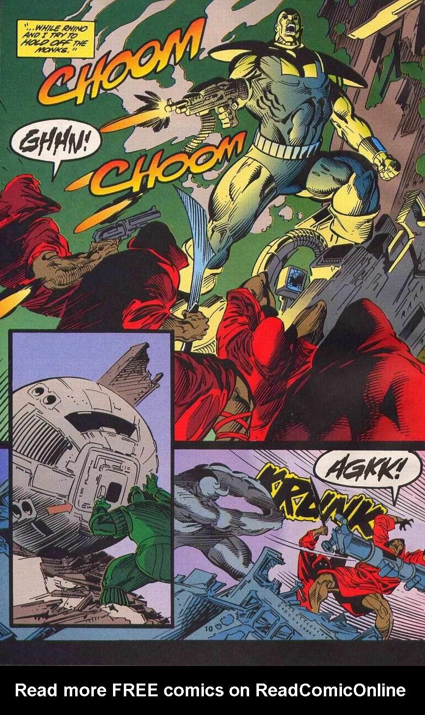 Read online Secret Defenders comic -  Issue #14 - 9