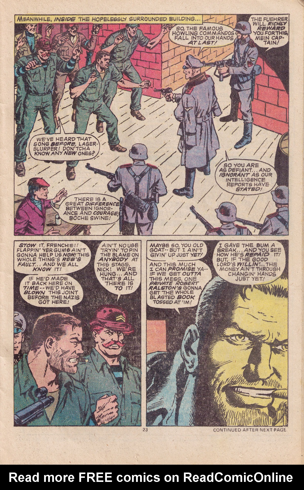 Read online Sgt. Fury comic -  Issue #151 - 25