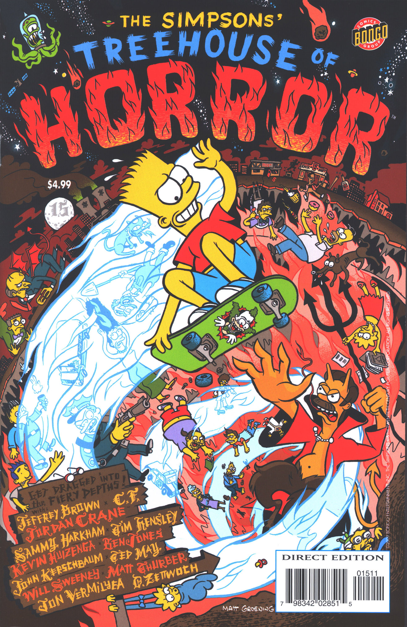 Read online Treehouse of Horror comic -  Issue #15 - 2