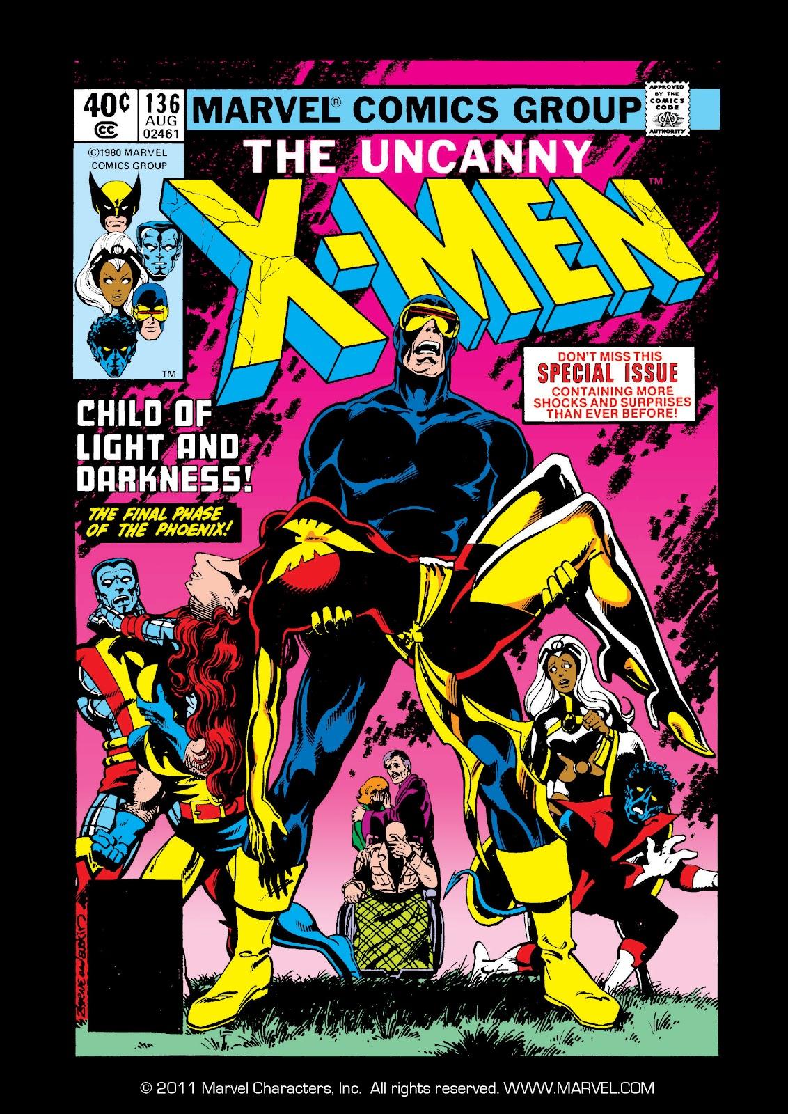 Uncanny X-Men (1963) issue 136 - Page 1