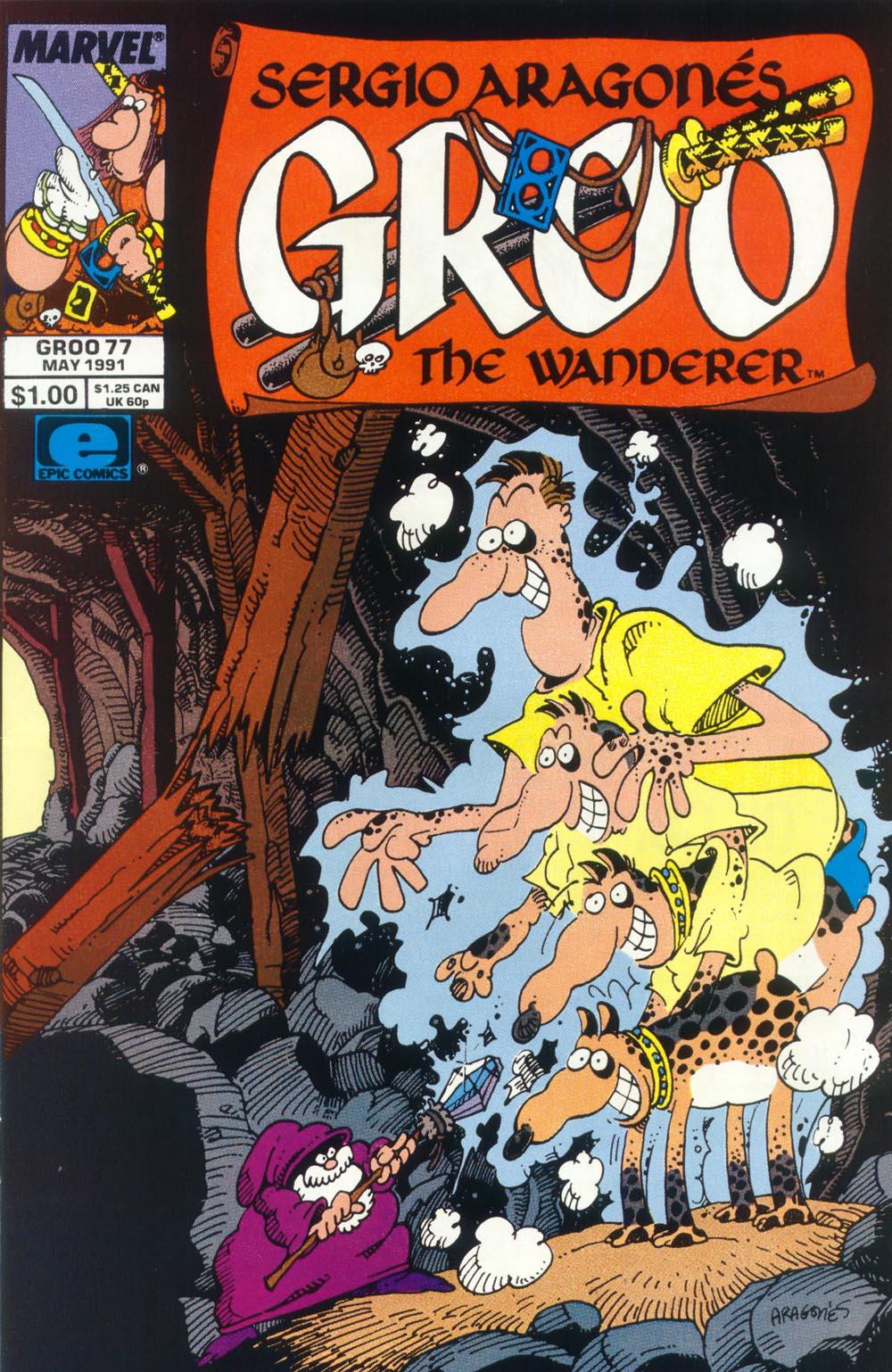 Read online Sergio Aragonés Groo the Wanderer comic -  Issue #77 - 1
