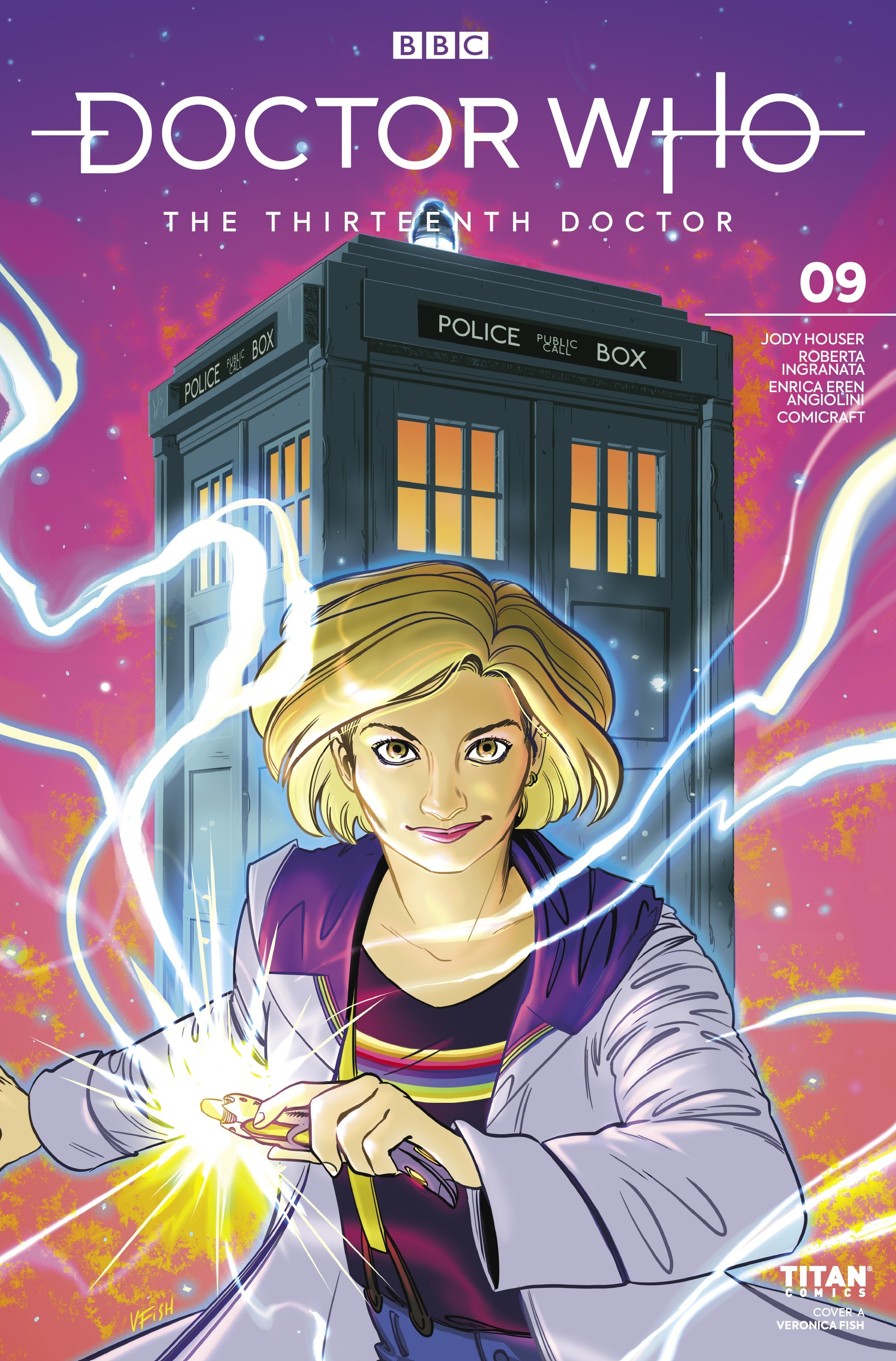 Doctor Who: The Thirteenth Doctor 9 Page 1