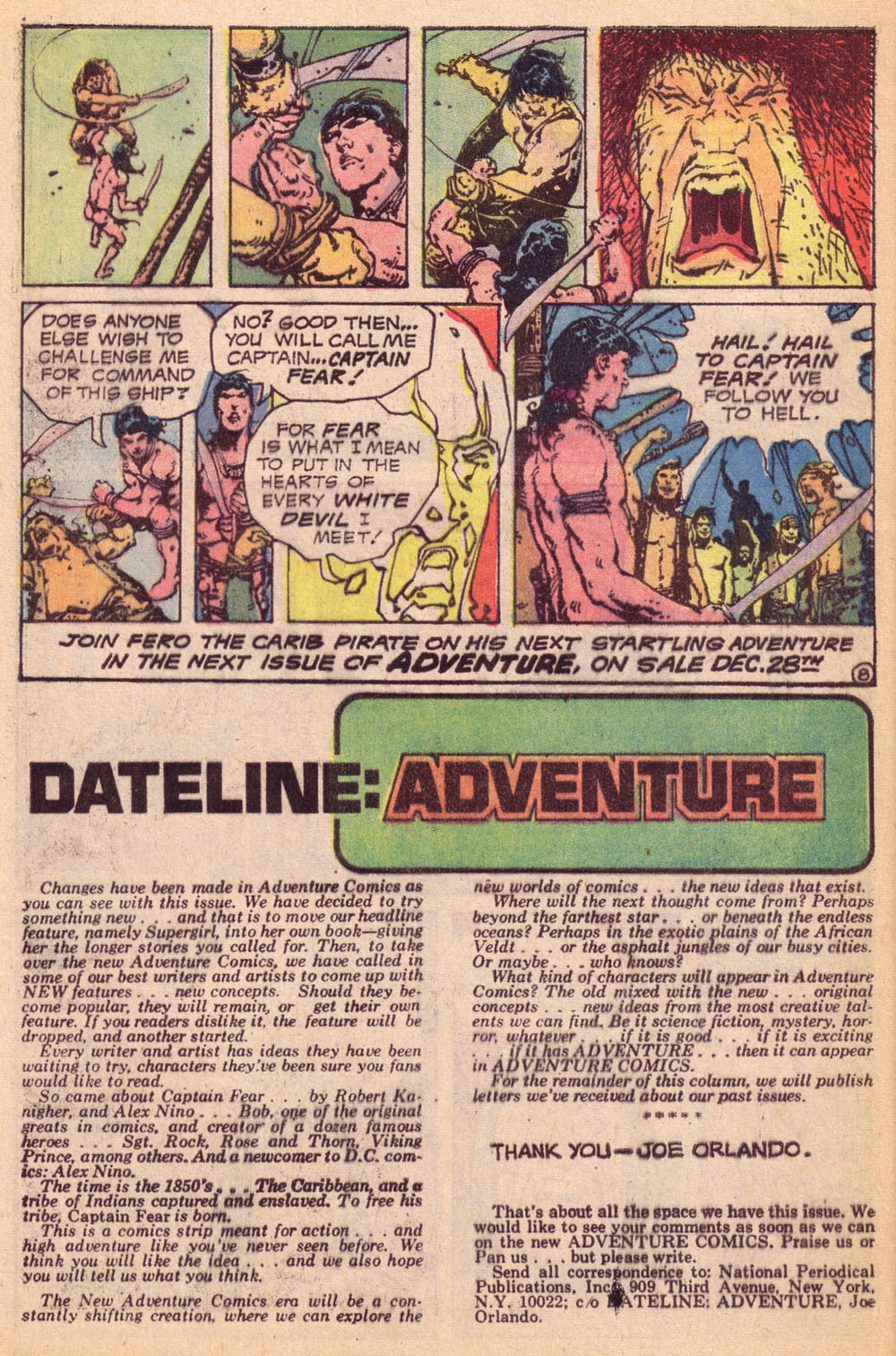 Read online Adventure Comics (1938) comic -  Issue #425 - 25