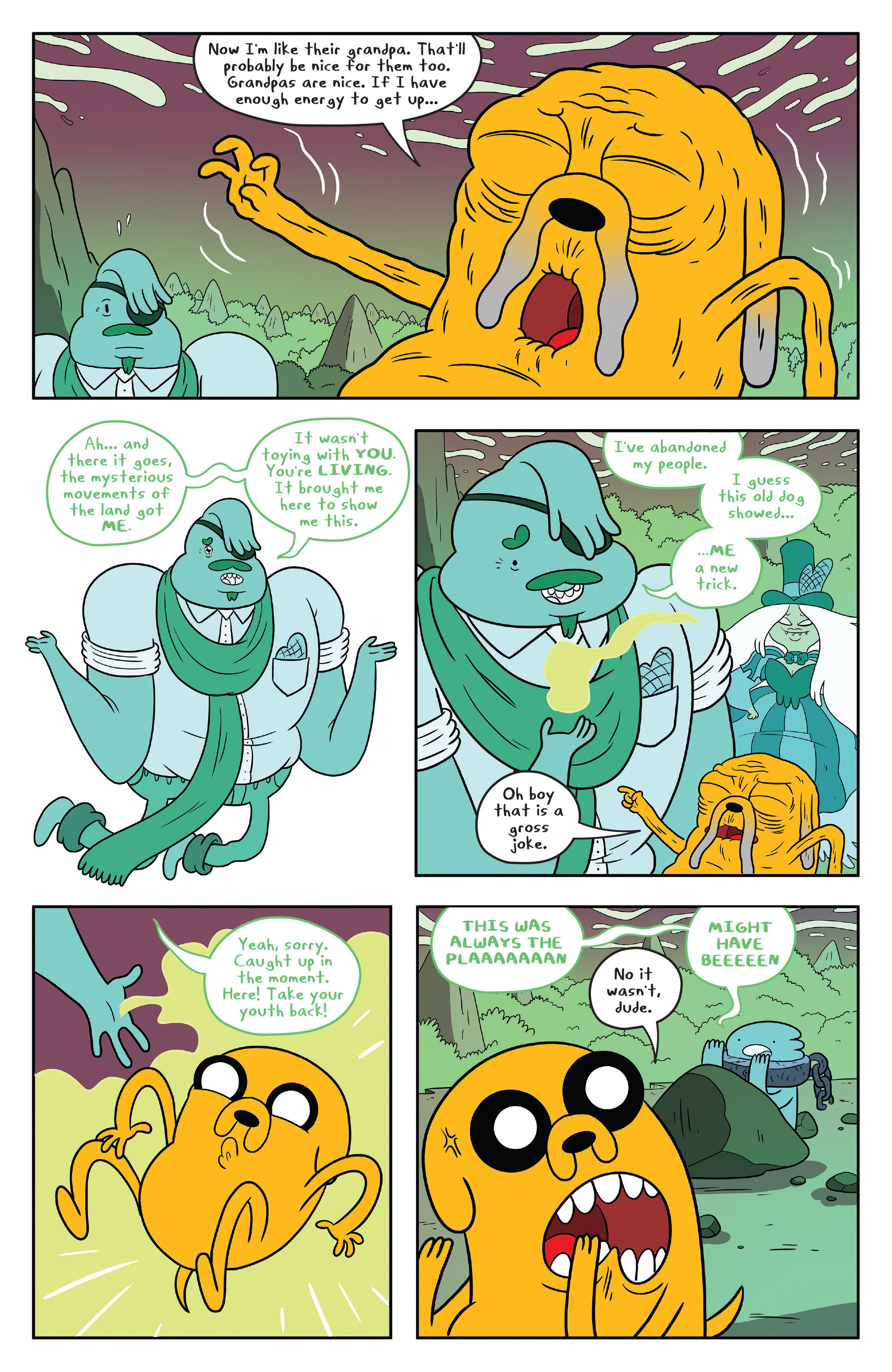 Read online Adventure Time comic -  Issue #53 - 22
