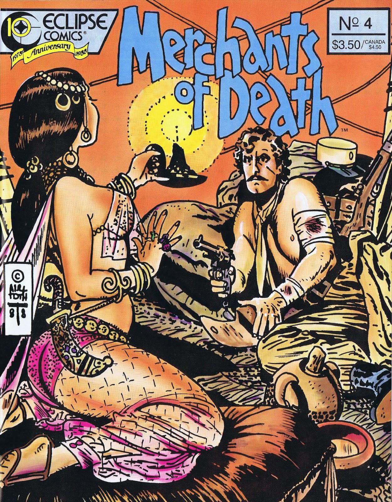 Read online Merchants of Death comic -  Issue #4 - 1