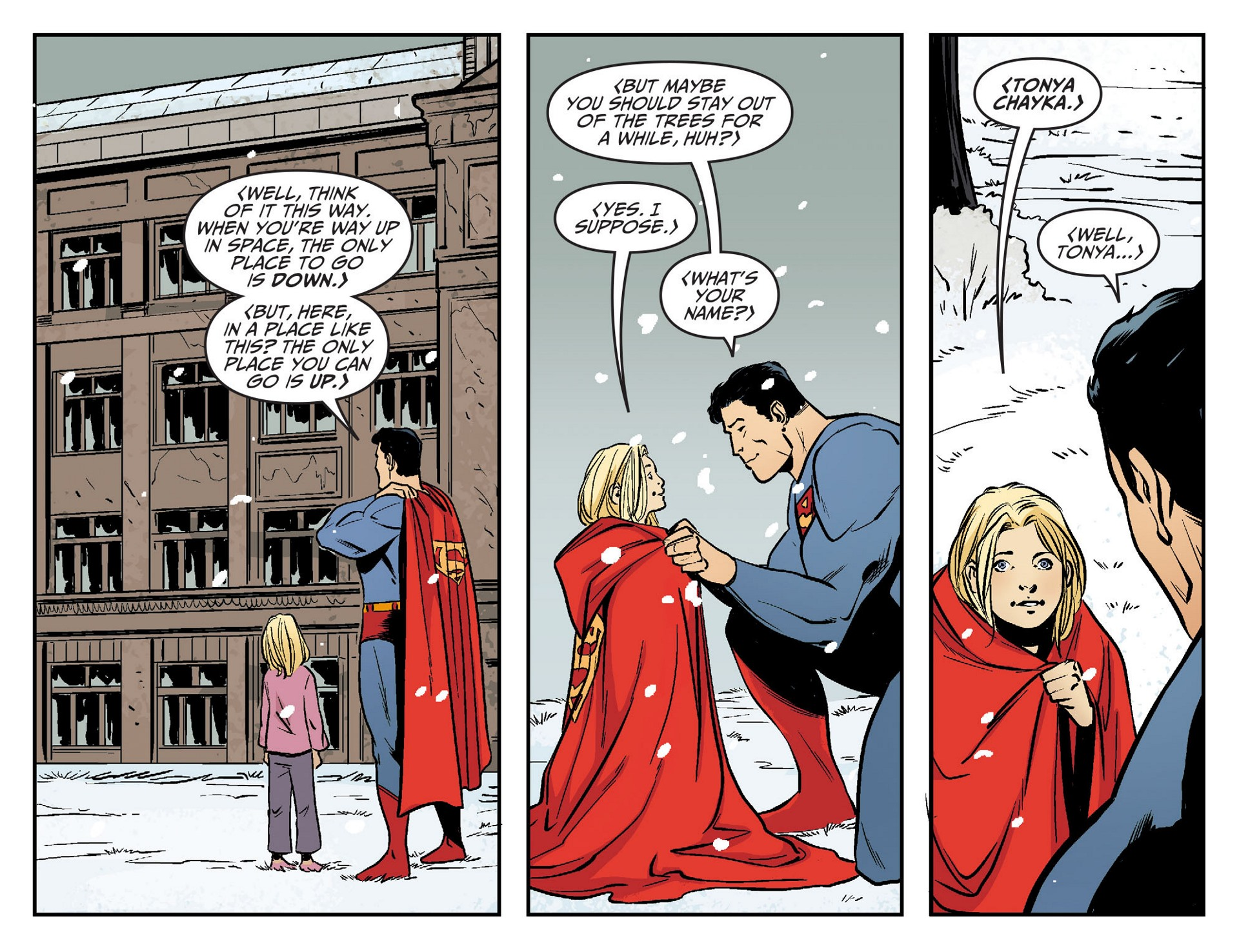 Read online Adventures of Superman [I] comic -  Issue #21 - 21