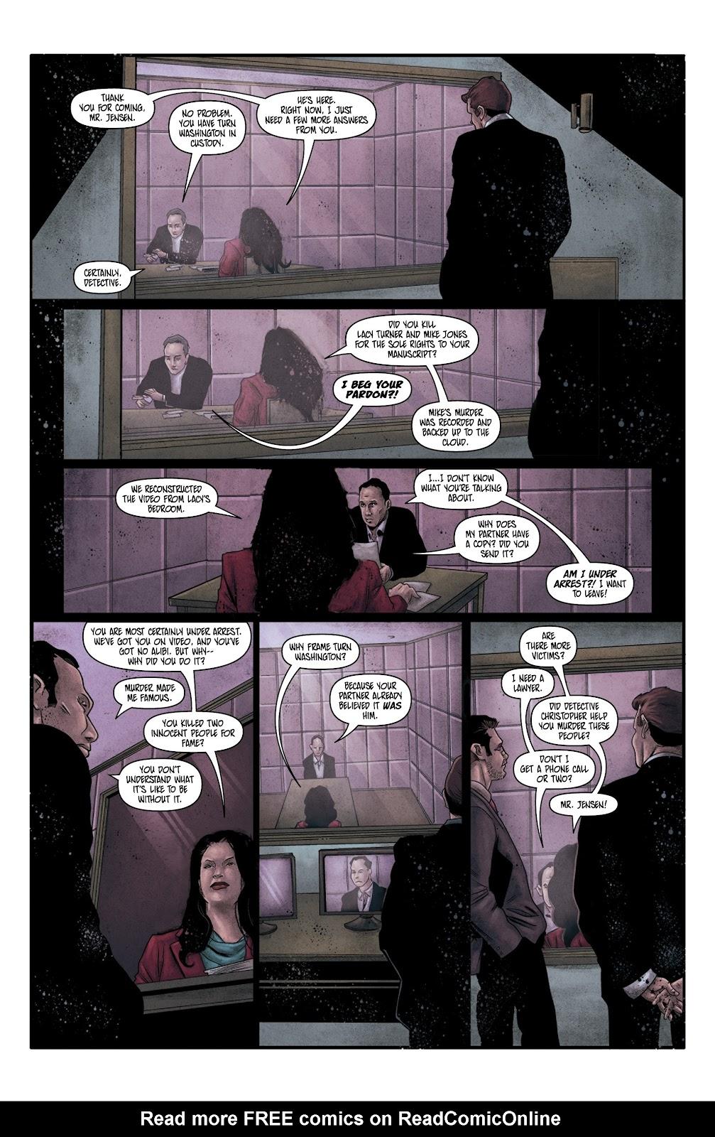 Read online Vindication comic -  Issue #4 - 22