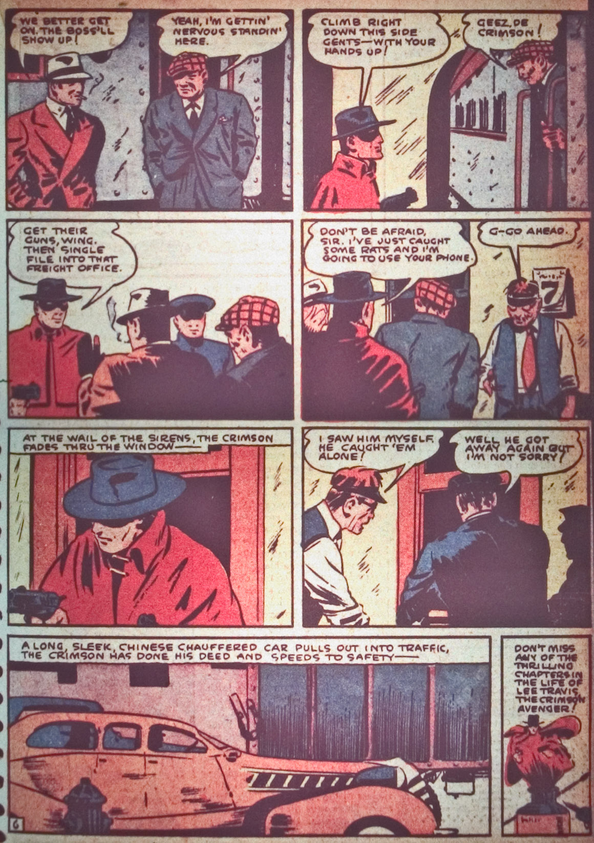 Read online Detective Comics (1937) comic -  Issue #26 - 33