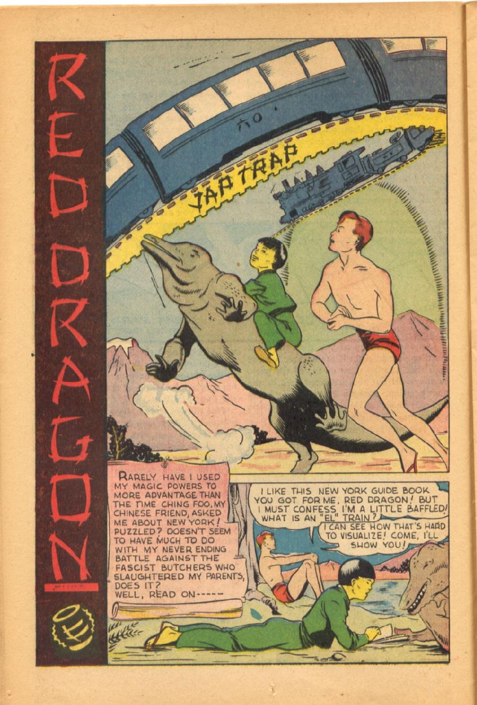 Read online Super-Magician Comics comic -  Issue #38 - 20