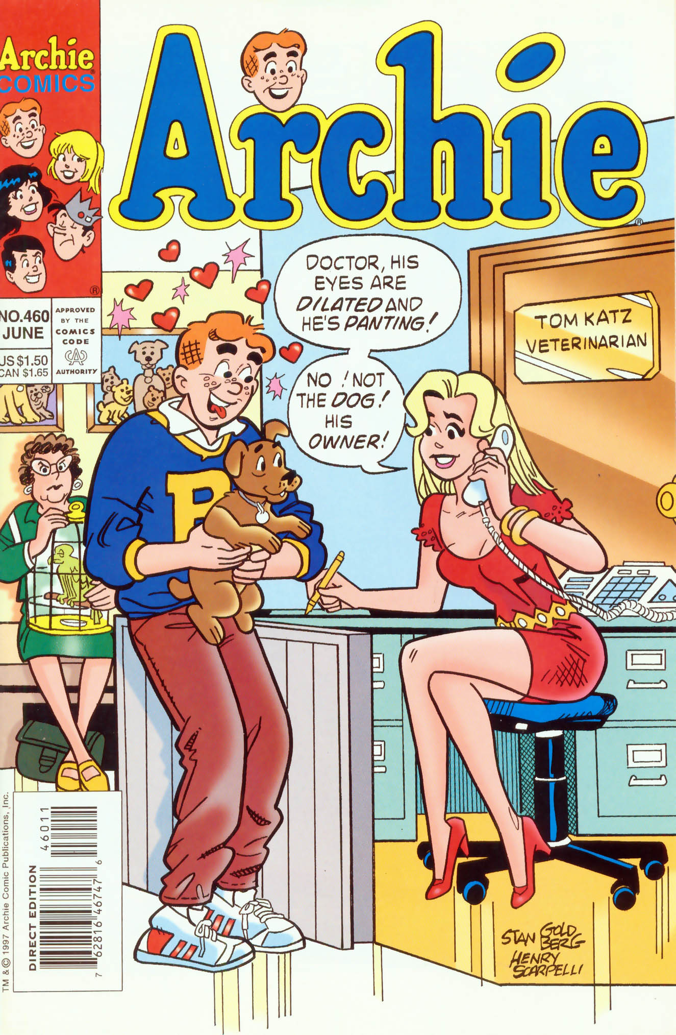 Read online Archie (1960) comic -  Issue #460 - 1