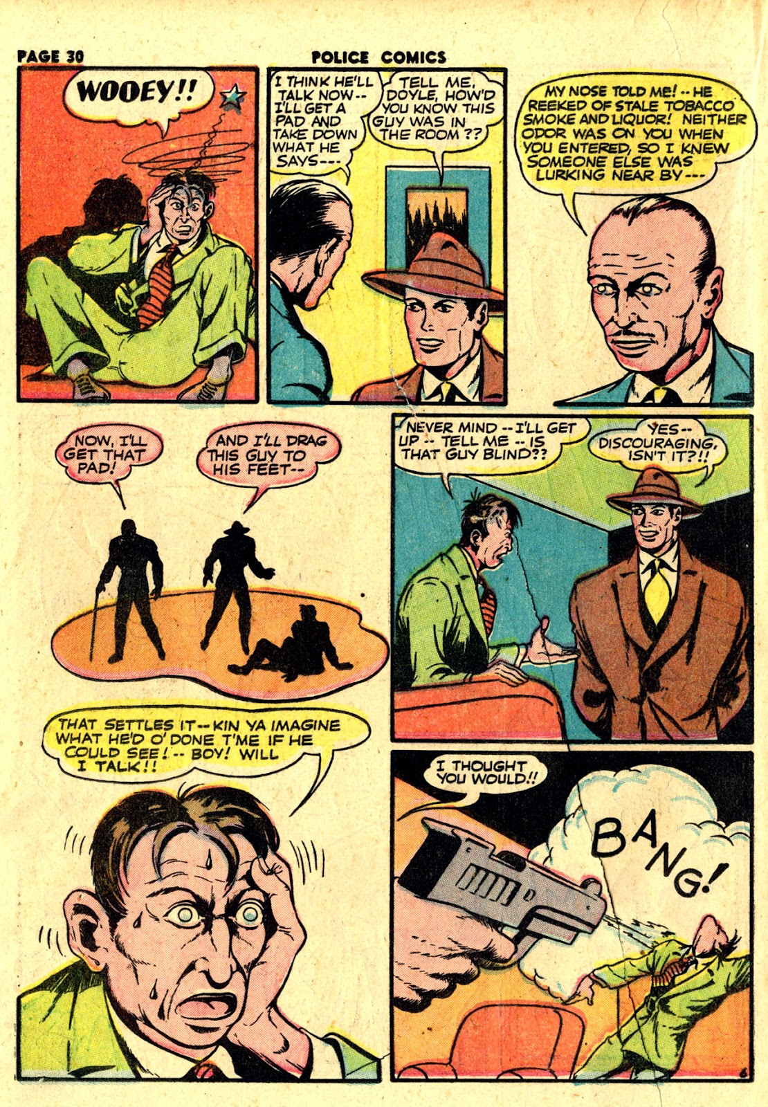 Police Comics issue 19 - Page 32