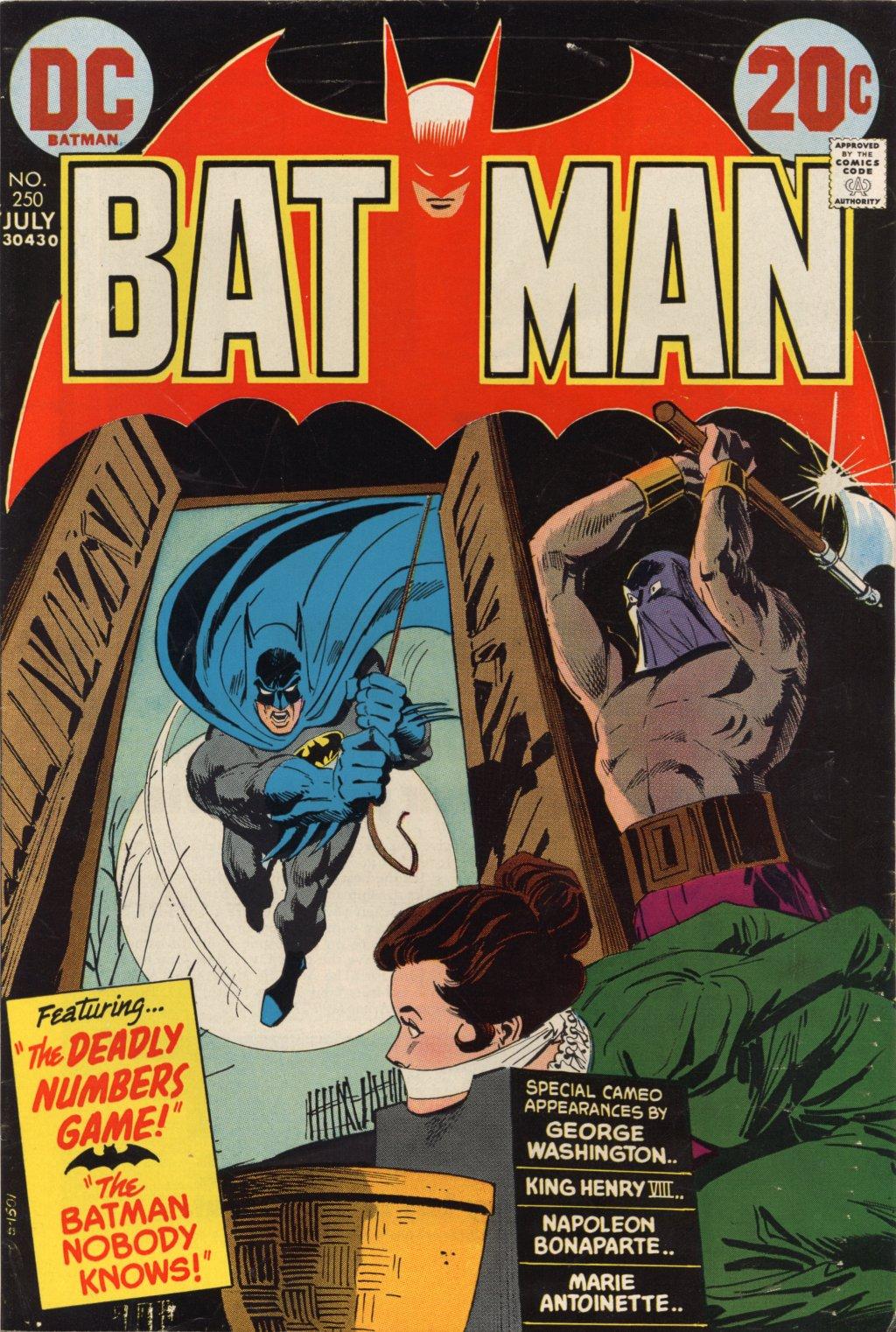 Batman (1940) 250 Page 1