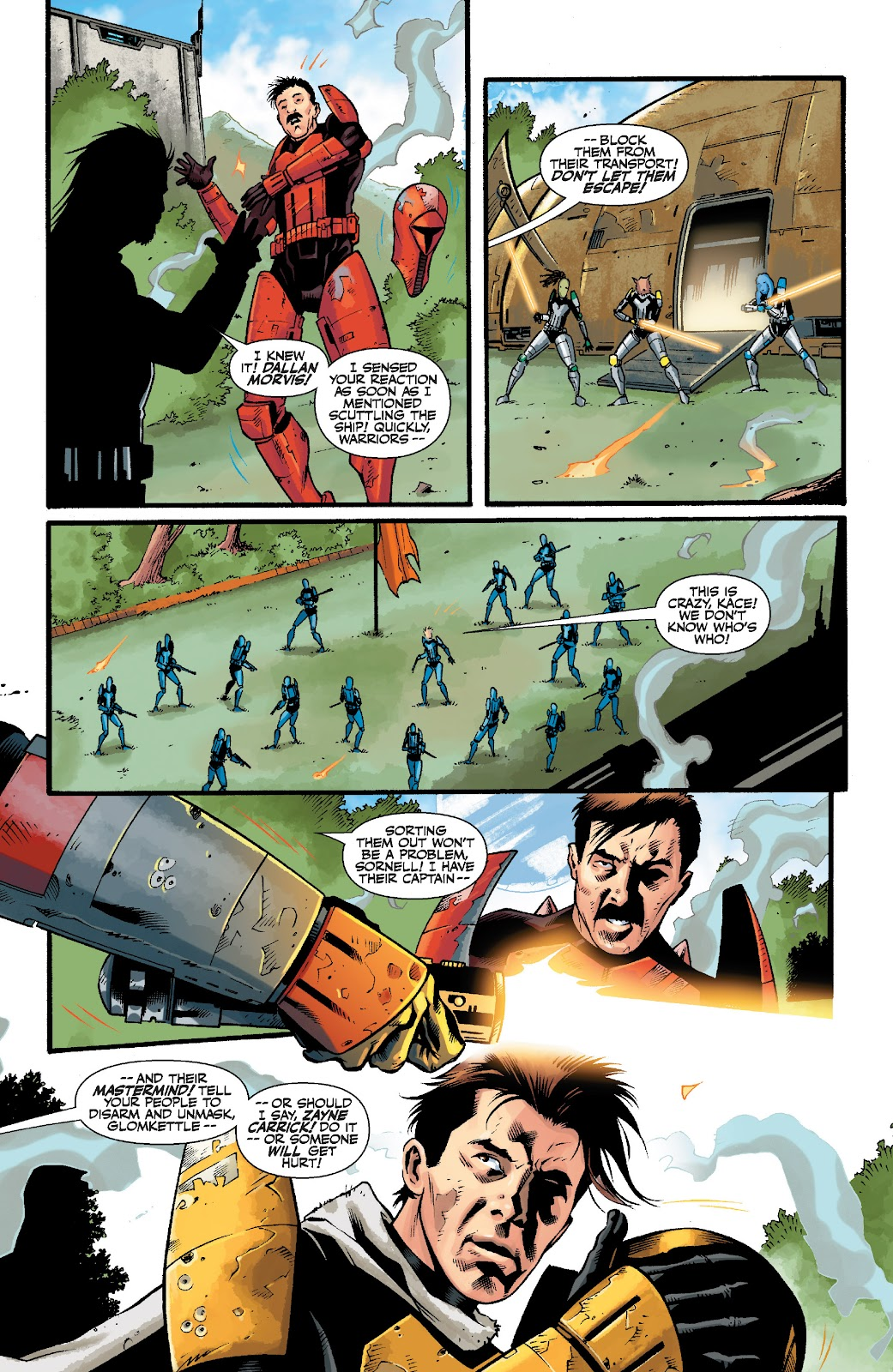 Read online Star Wars Legends: The Old Republic - Epic Collection comic -  Issue # TPB 3 (Part 5) - 4