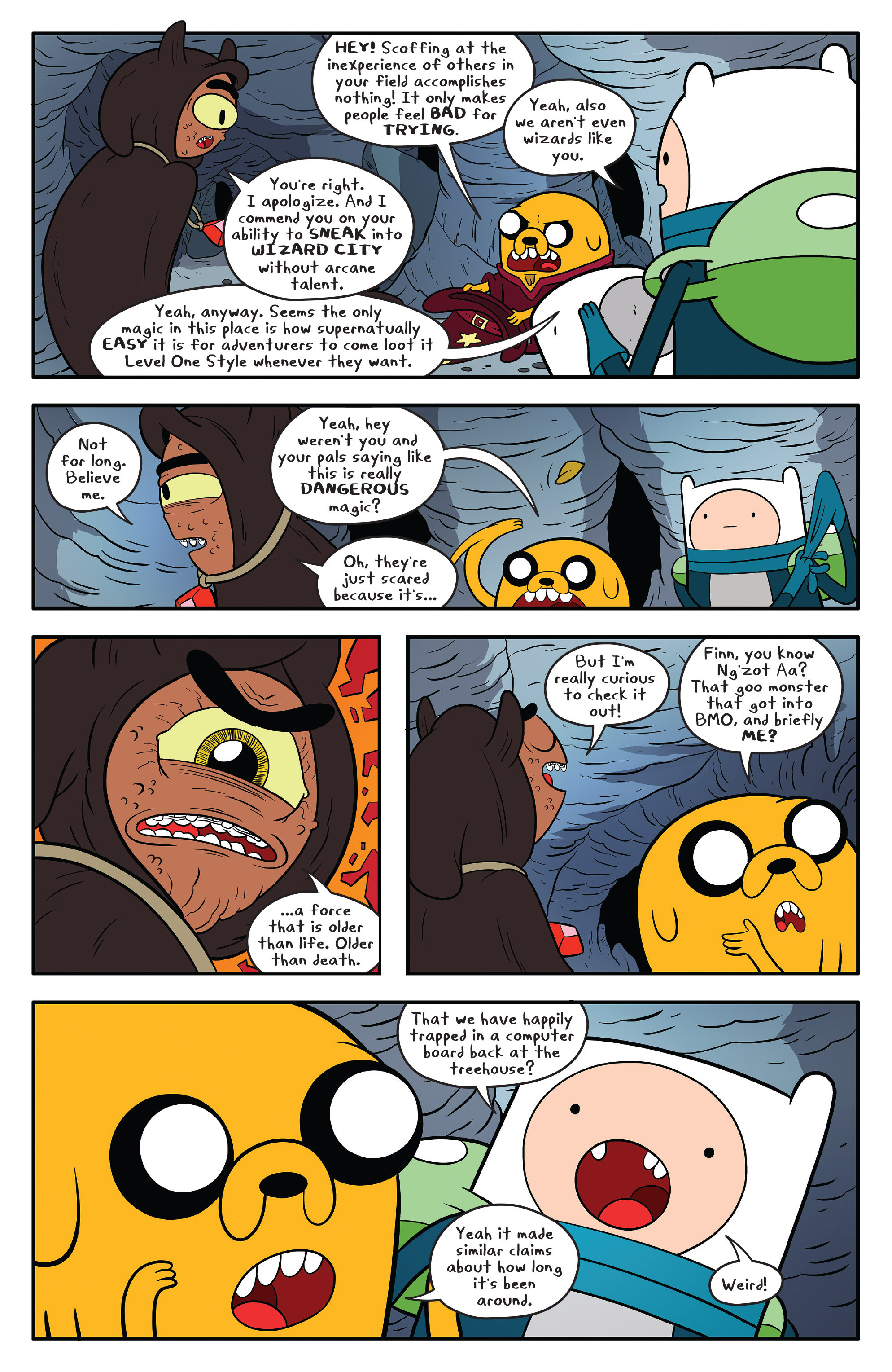 Read online Adventure Time comic -  Issue #59 - 8