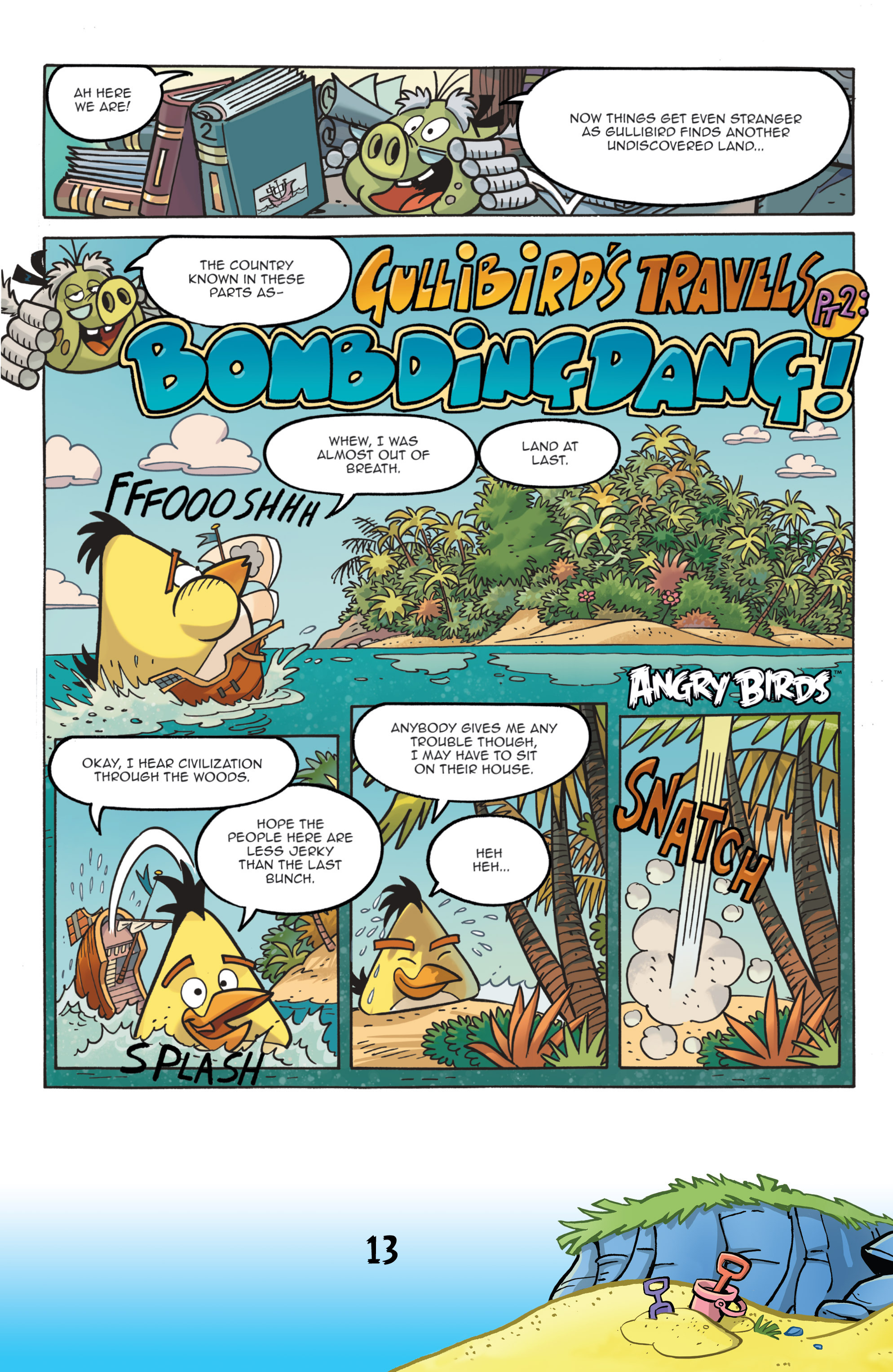 Read online Angry Birds Comics (2016) comic -  Issue #7 - 15