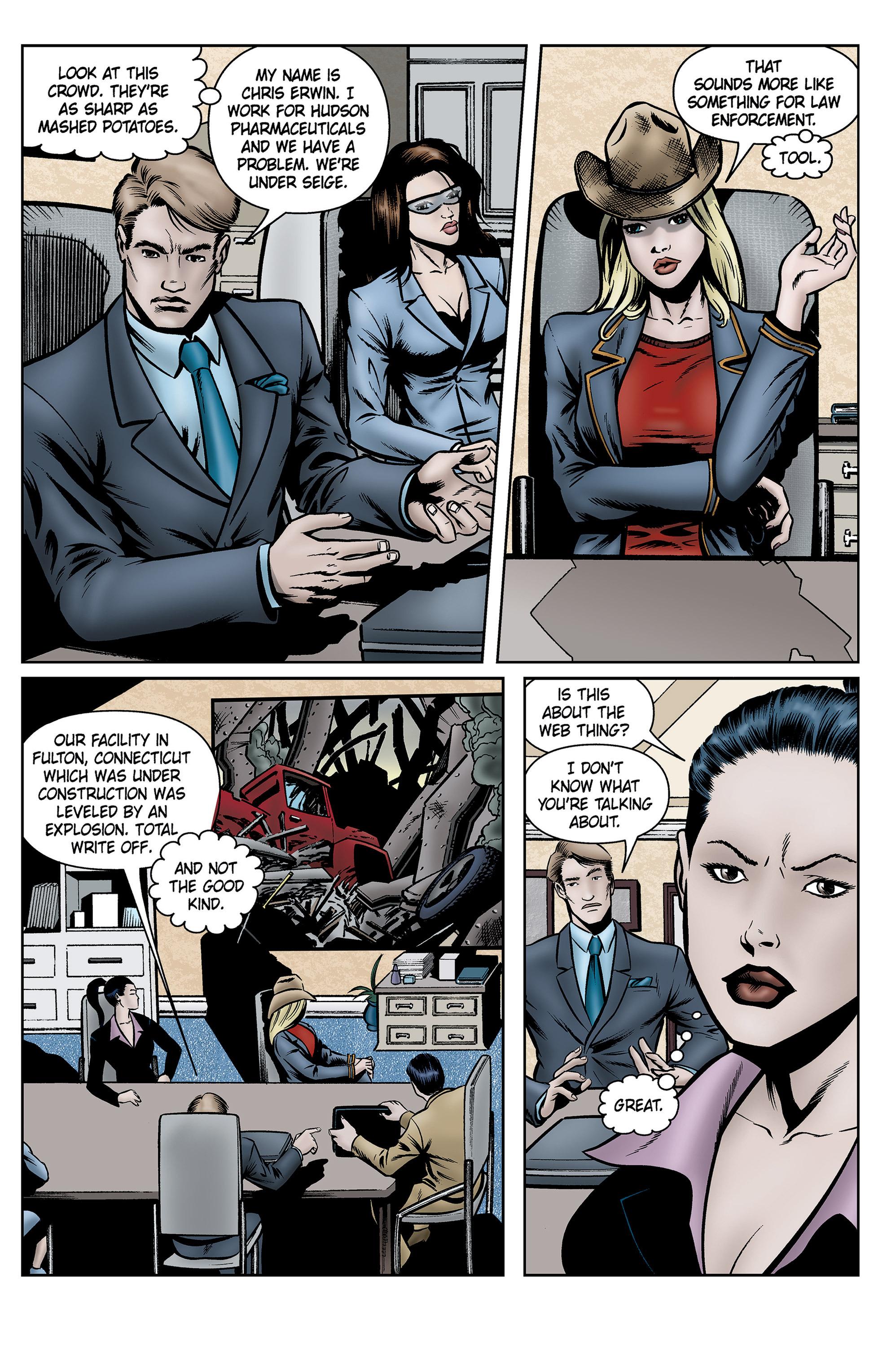 Read online SideChicks comic -  Issue #5 - 23