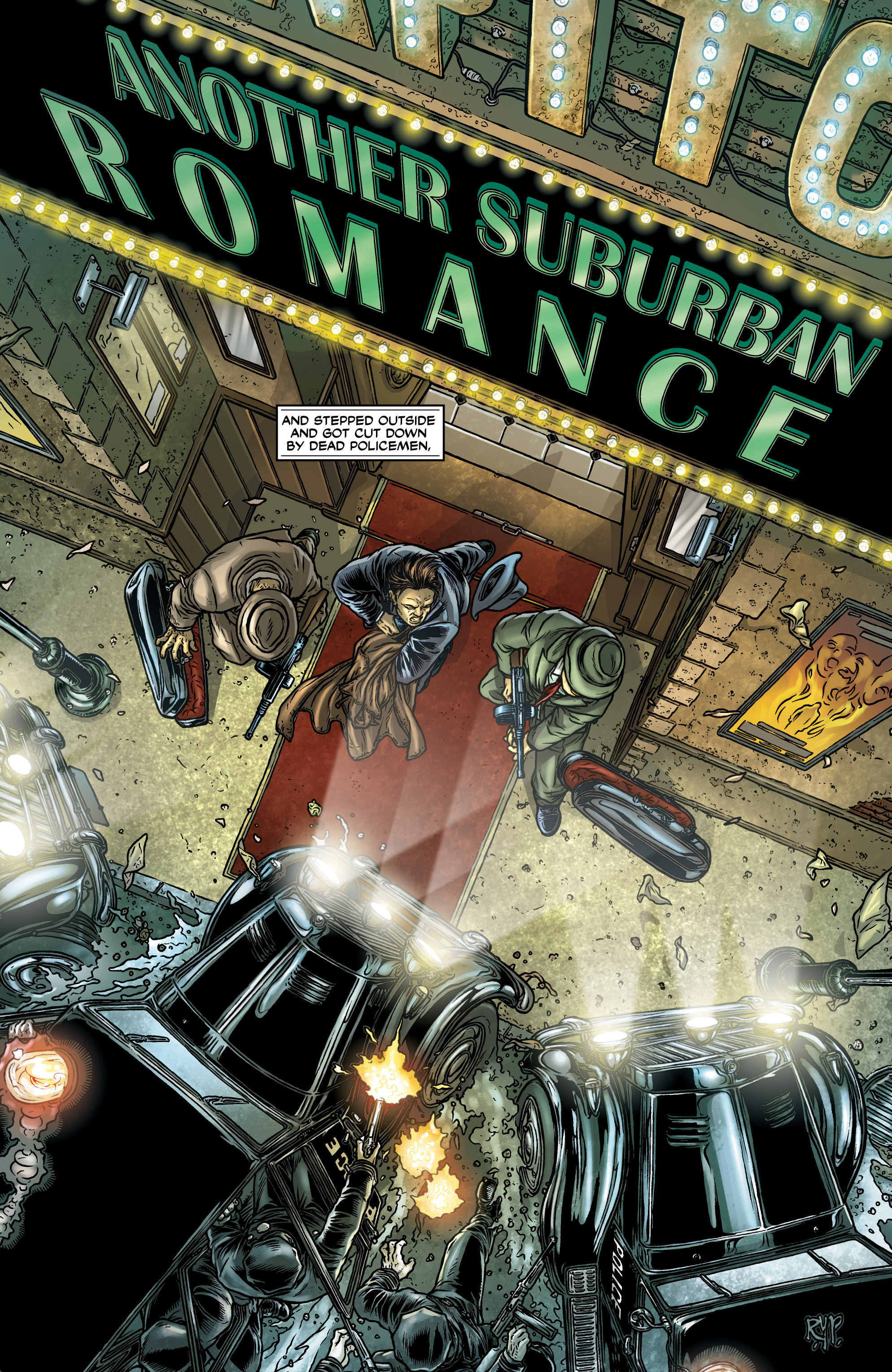 Read online Alan Moore's Another Suburban Romance comic -  Issue #Alan Moore's Another Suburban Romance Full - 26