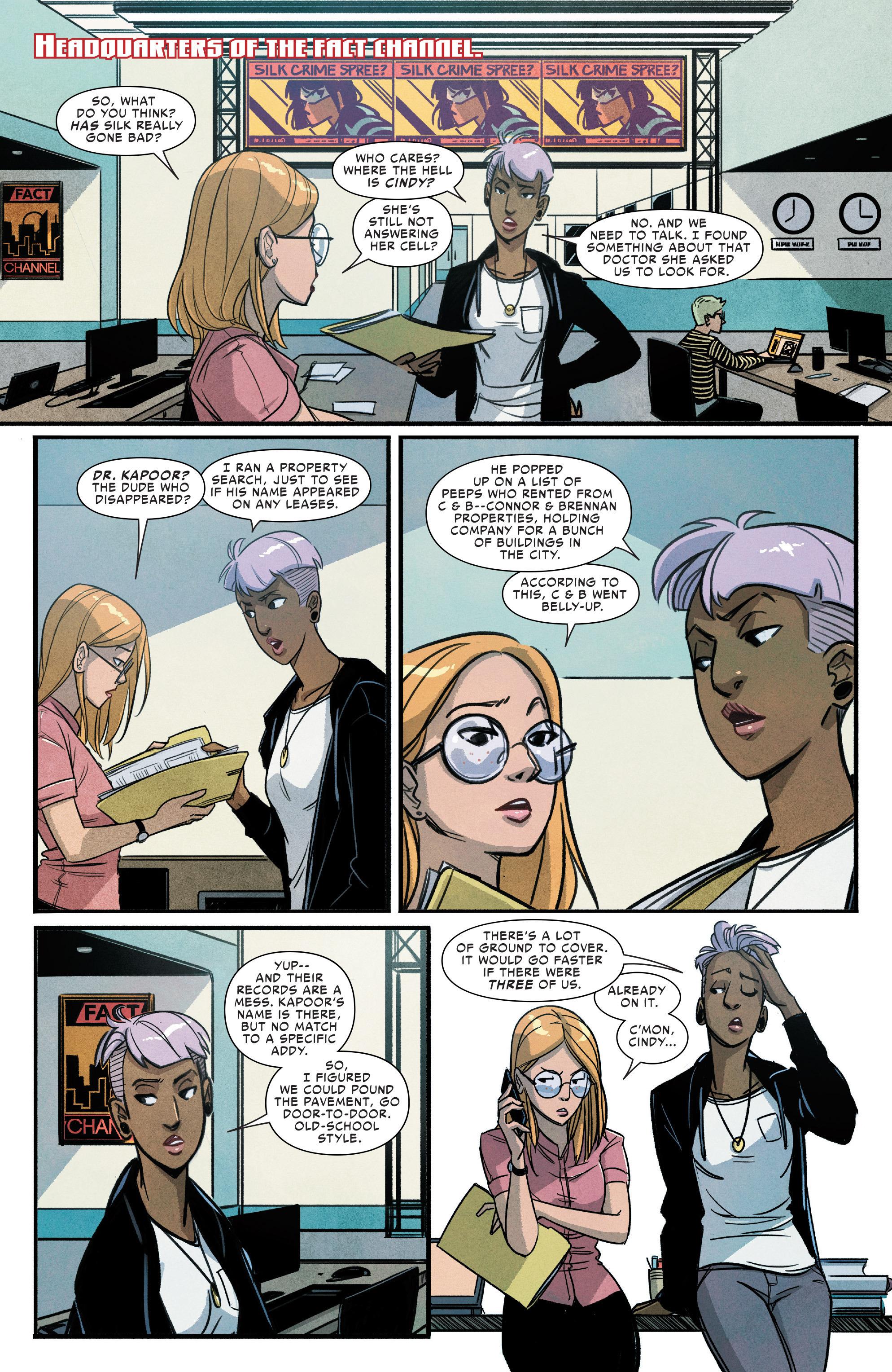 Read online Silk (2016) comic -  Issue #9 - 3