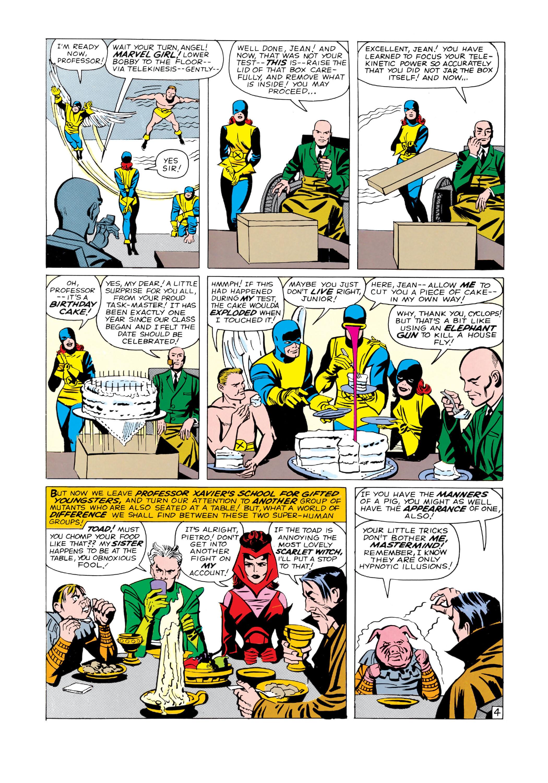 Read online Uncanny X-Men (1963) comic -  Issue #4 - 5