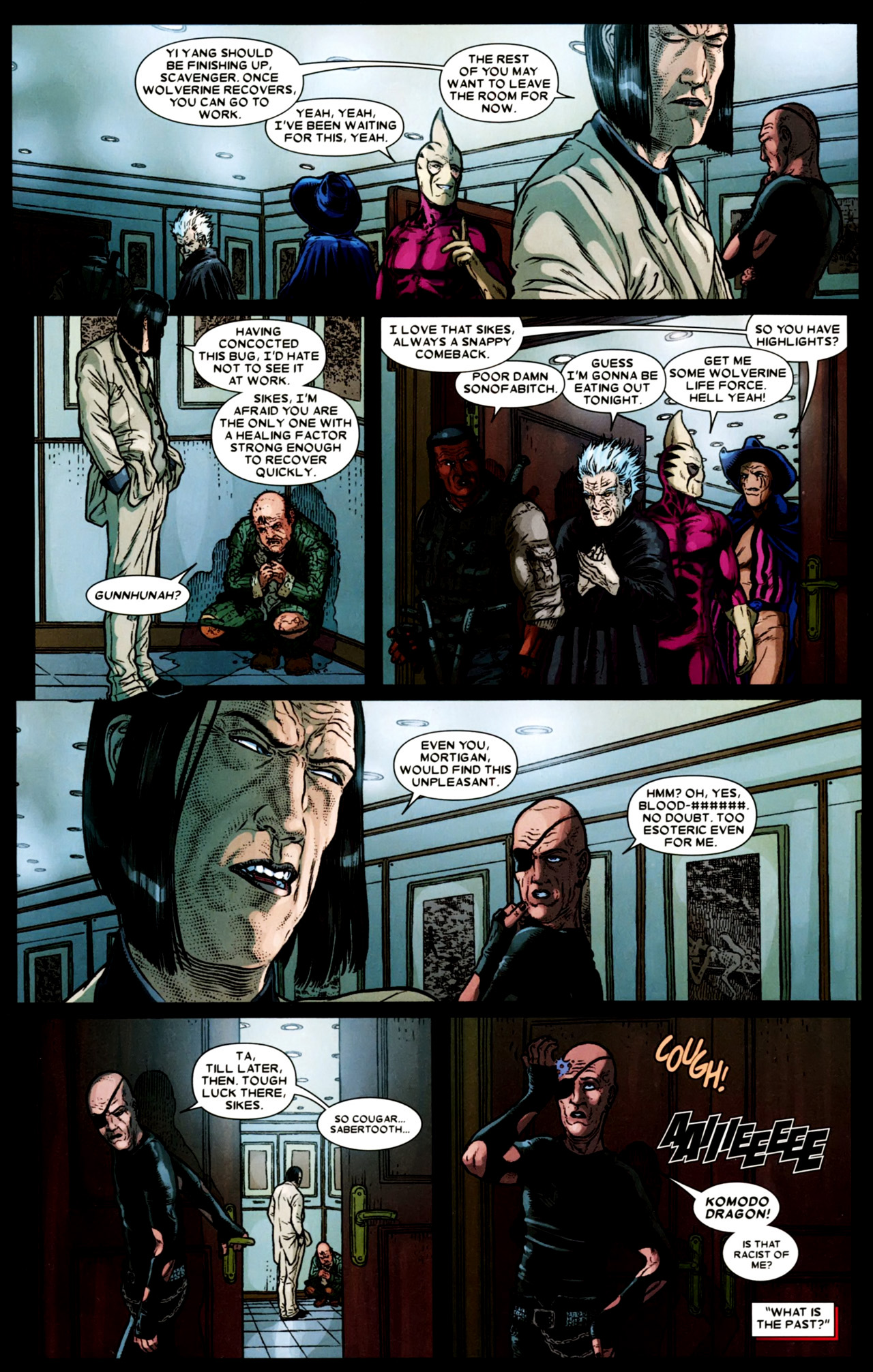 Read online Wolverine: The Best There Is comic -  Issue #4 - 13