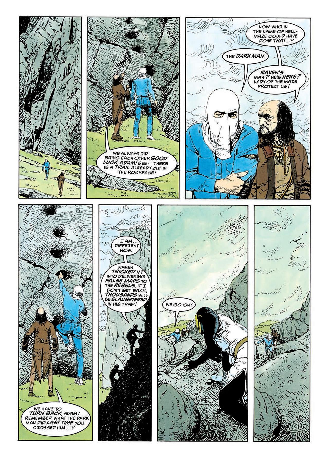 Read online Mazeworld comic -  Issue # TPB - 108