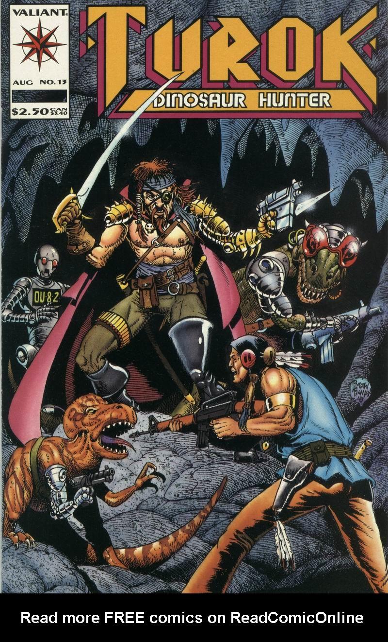 Read online Turok, Dinosaur Hunter (1993) comic -  Issue #13 - 1