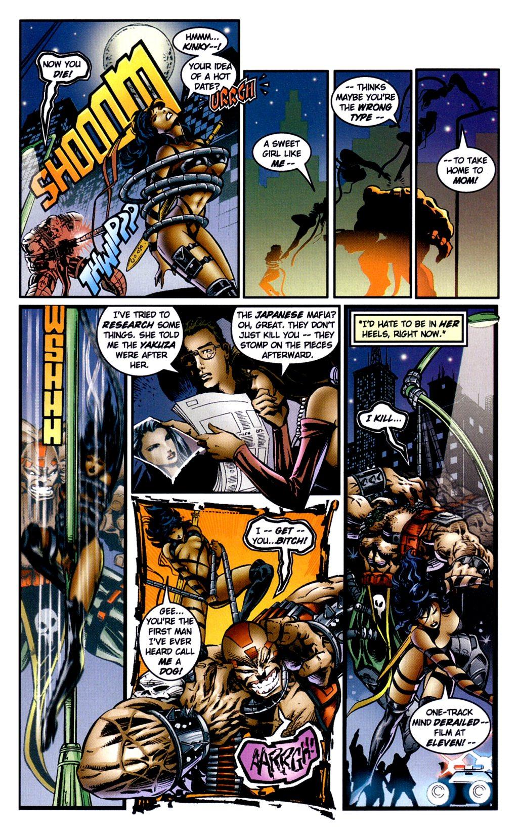 Read online Jade Warriors comic -  Issue #2 - 16