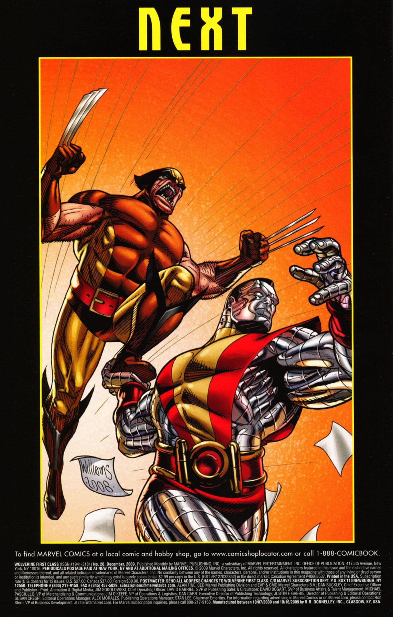 Read online Wolverine: First Class comic -  Issue #20 - 25