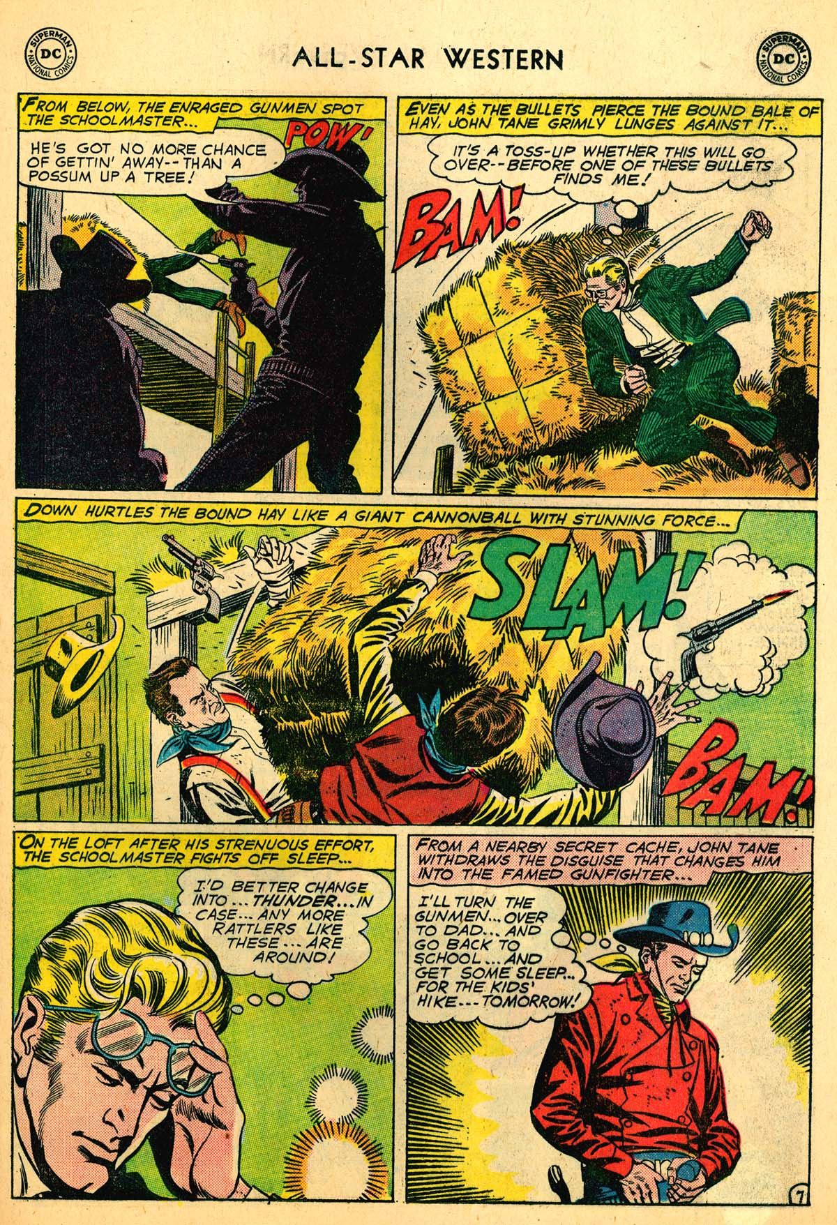 Read online All-Star Western (1951) comic -  Issue #110 - 9