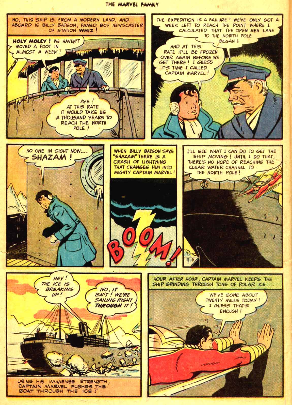 The Marvel Family issue 9 - Page 6