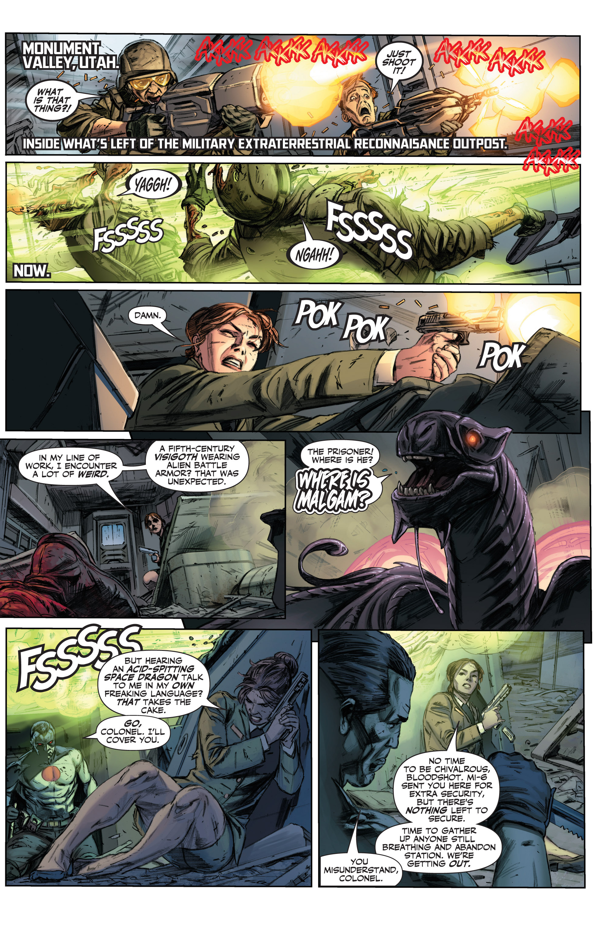 Read online Armor Hunters comic -  Issue #3 - 3