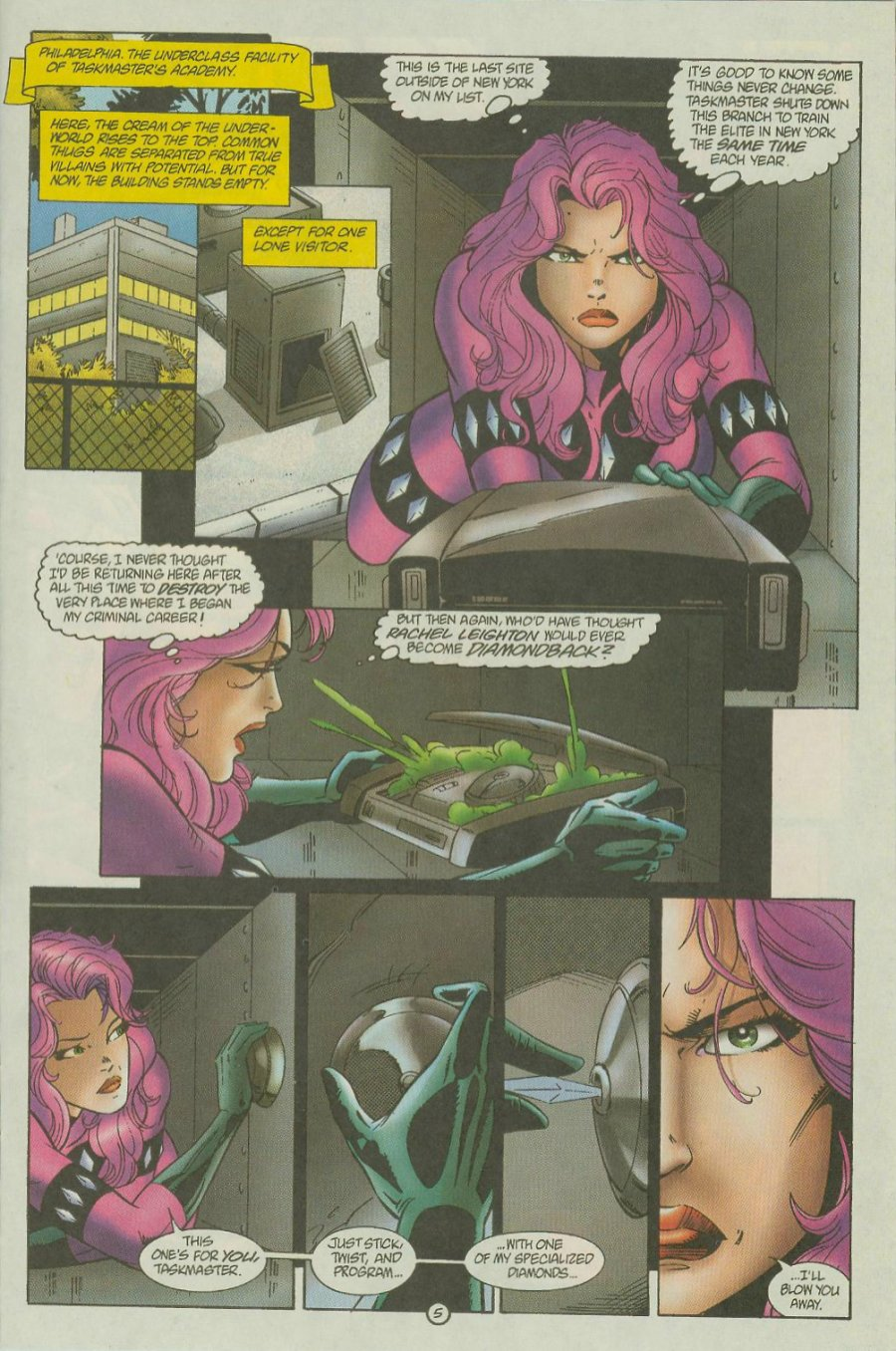 Read online Siren comic -  Issue #1 - 7