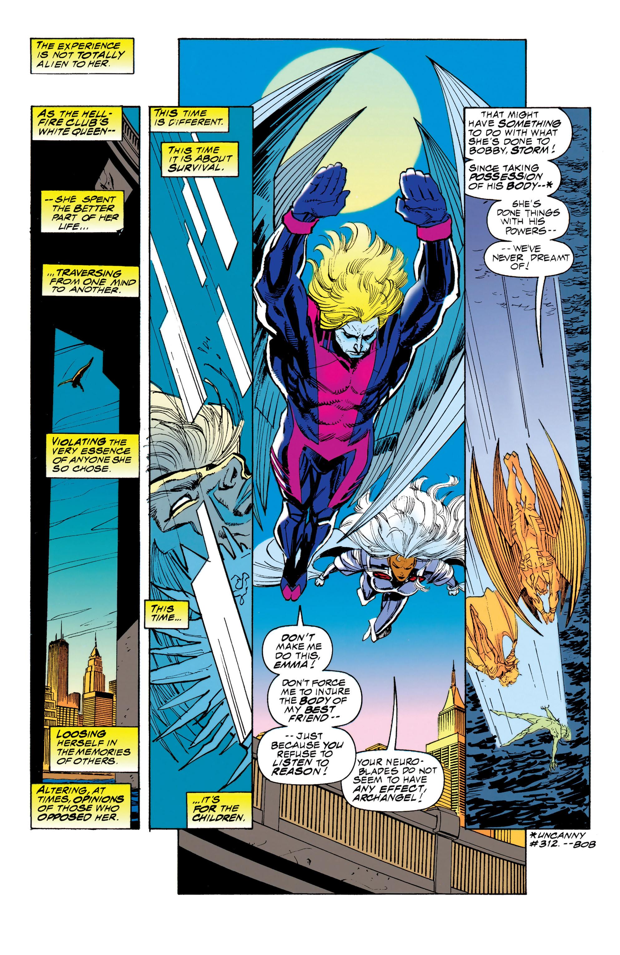 Read online Uncanny X-Men (1963) comic -  Issue #314 - 3