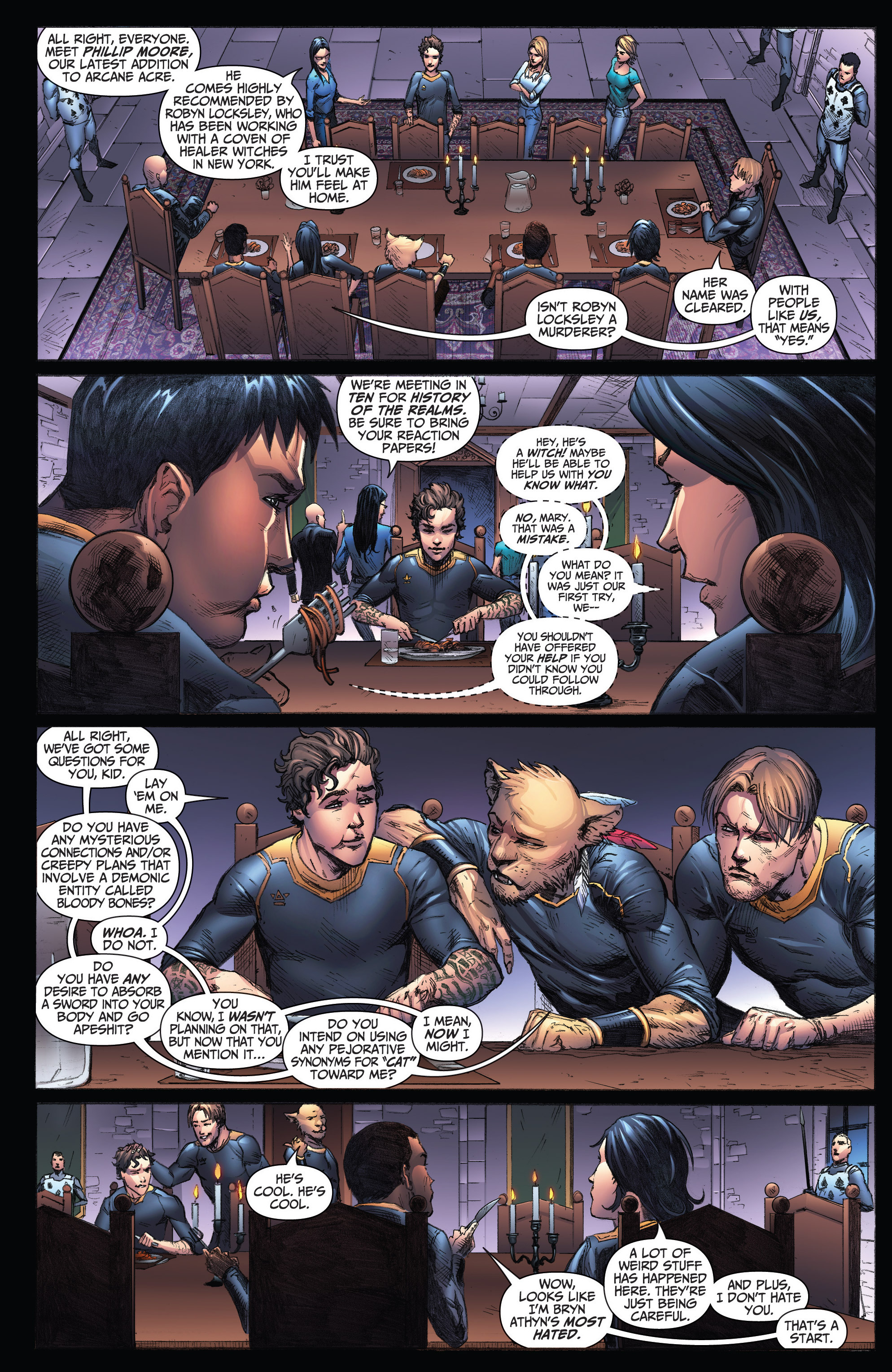 Read online Grimm Fairy Tales: Arcane Acre comic -  Issue # TPB 3 - 81