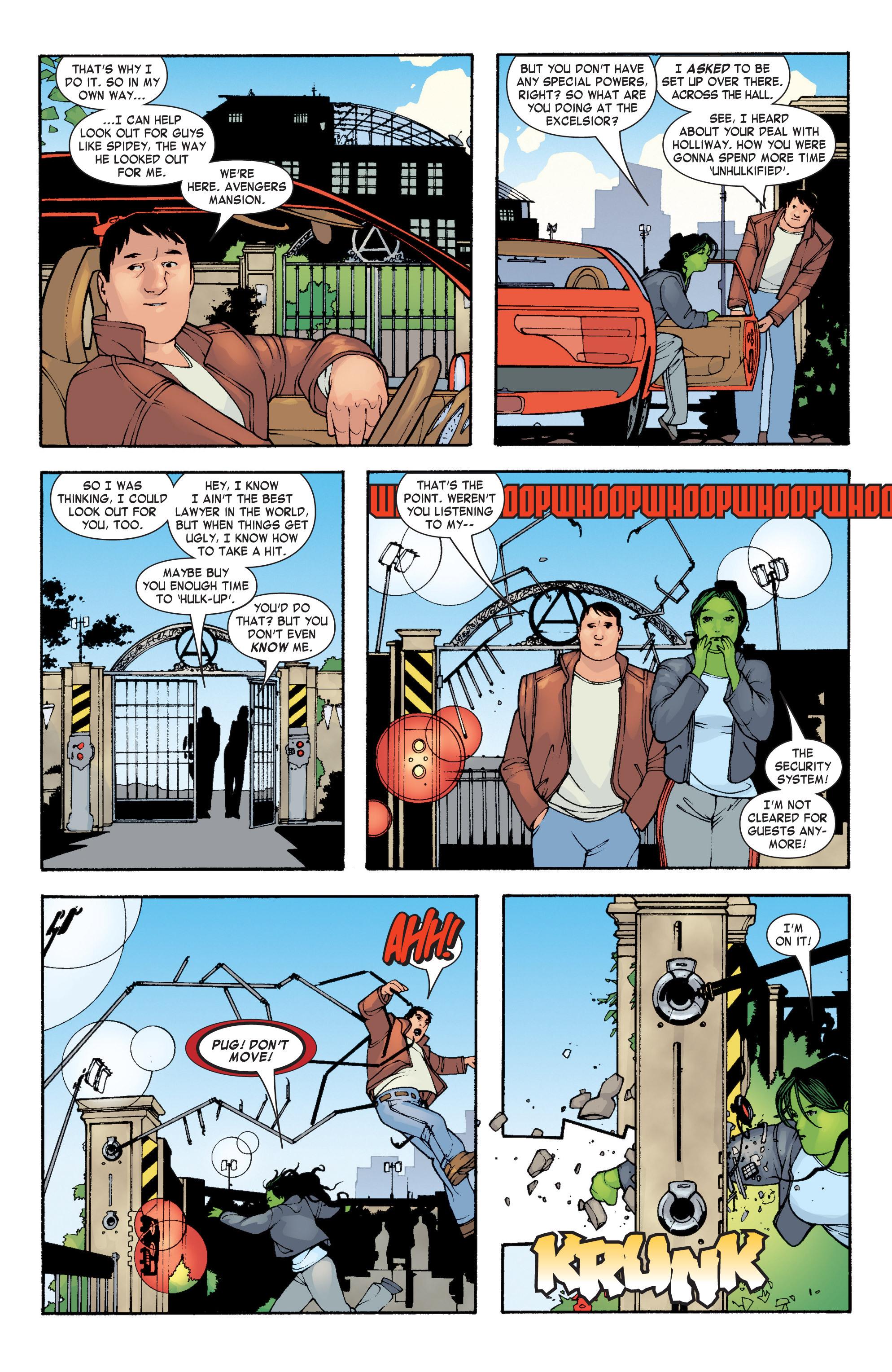 Read online She-Hulk (2004) comic -  Issue #3 - 11