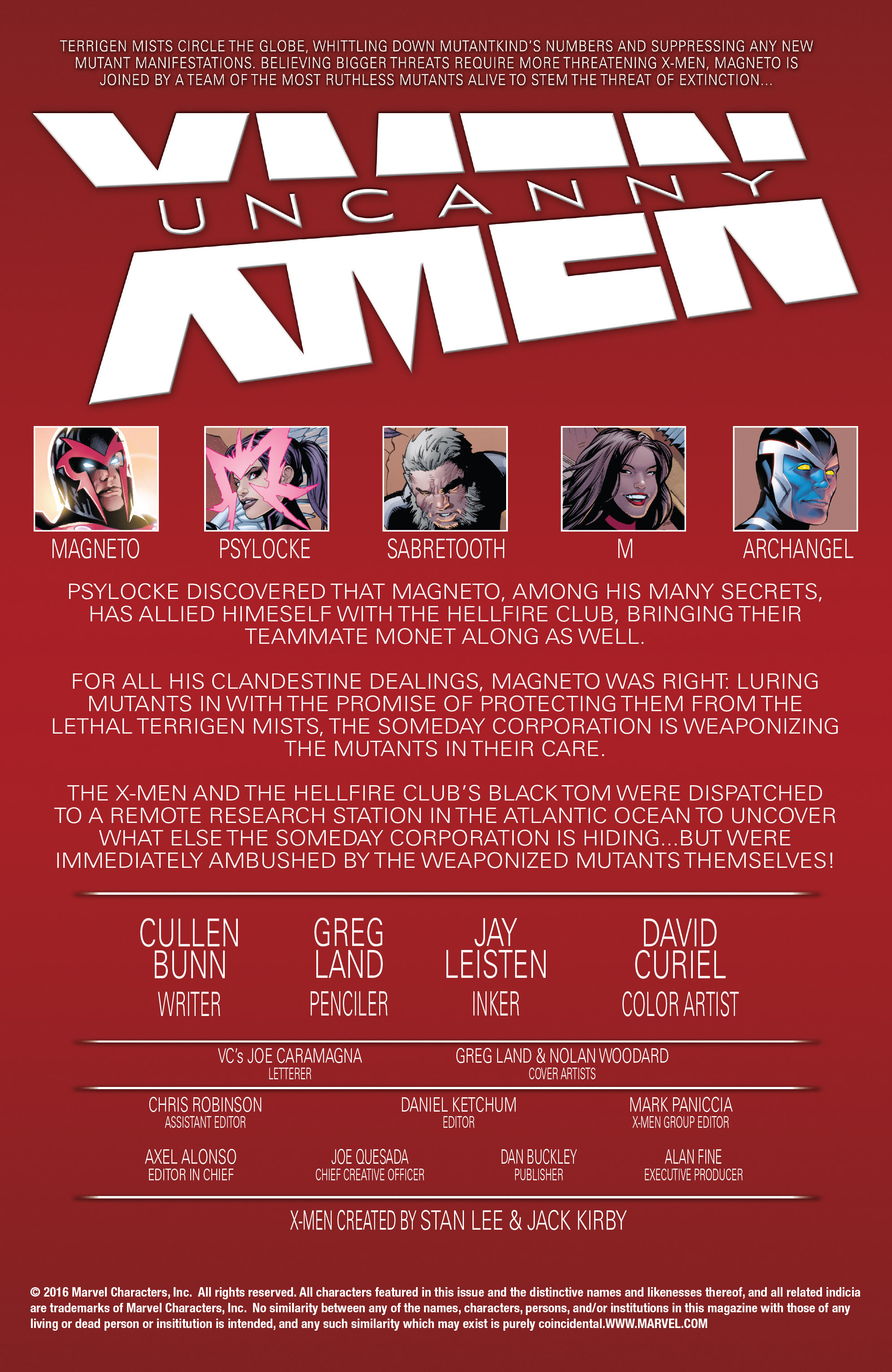 Read online Uncanny X-Men (2016) comic -  Issue #13 - 2