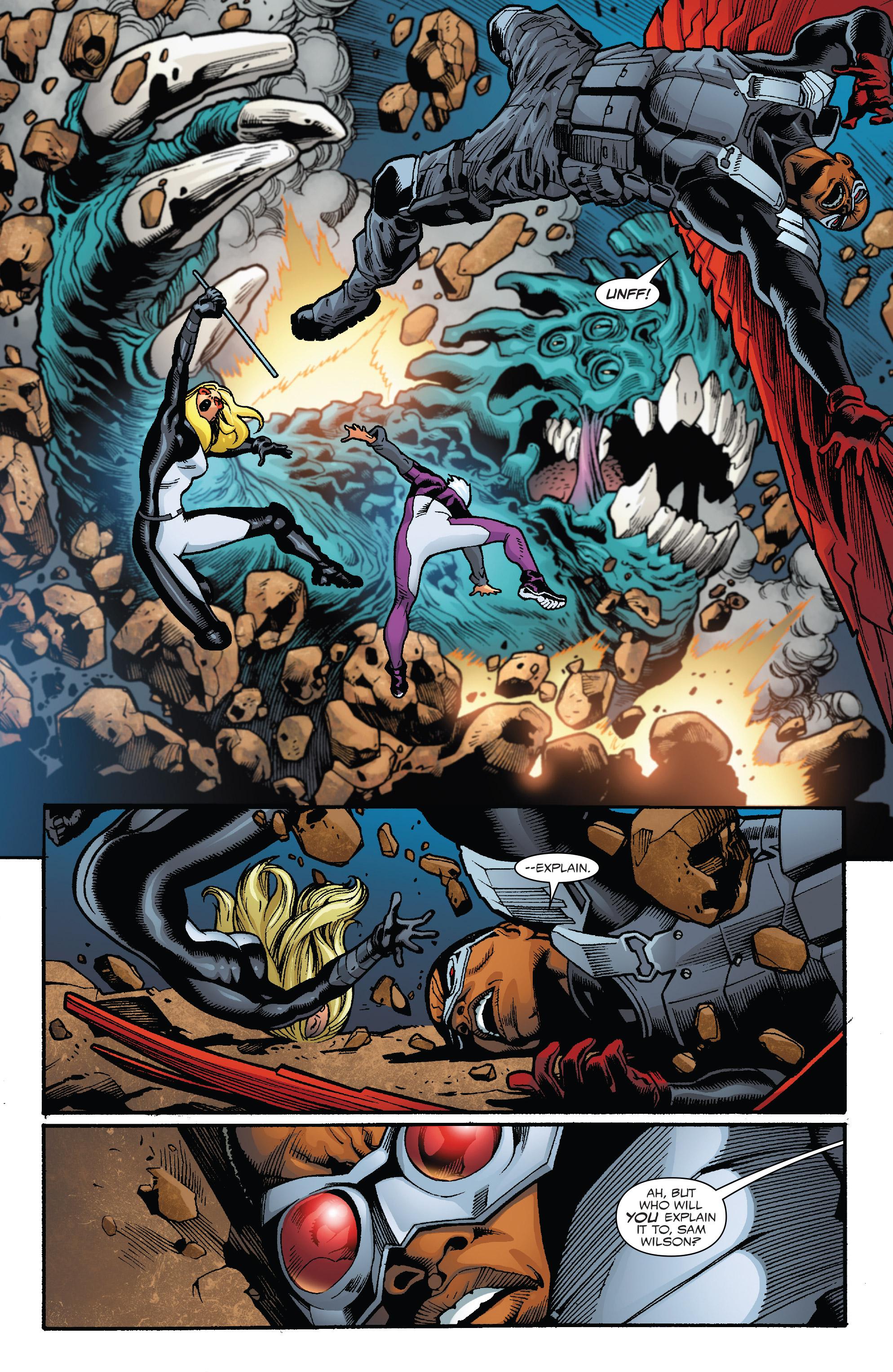 Read online Captain America: Sam Wilson comic -  Issue #23 - 12
