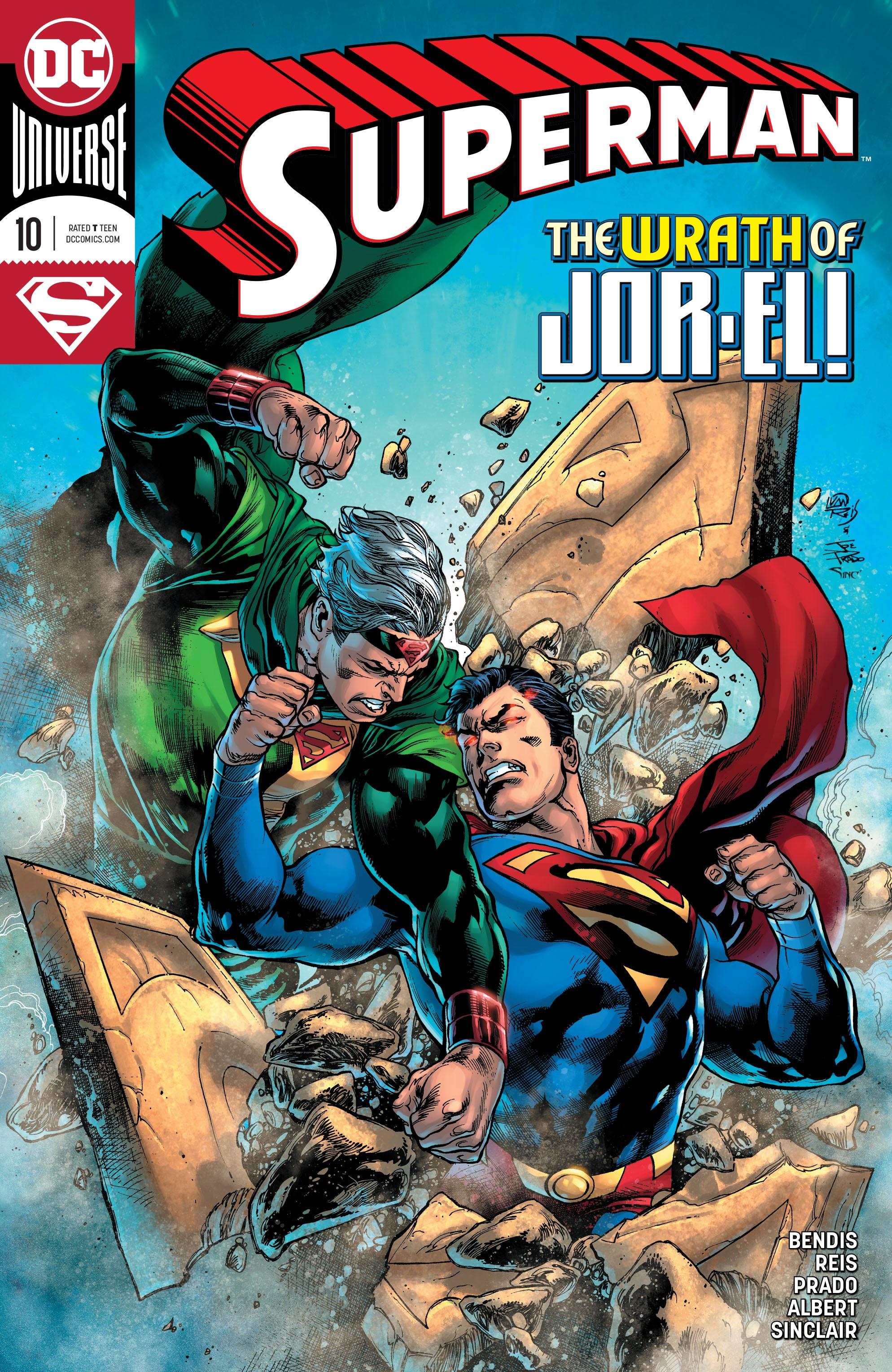 Superman (2018) 10 Page 1